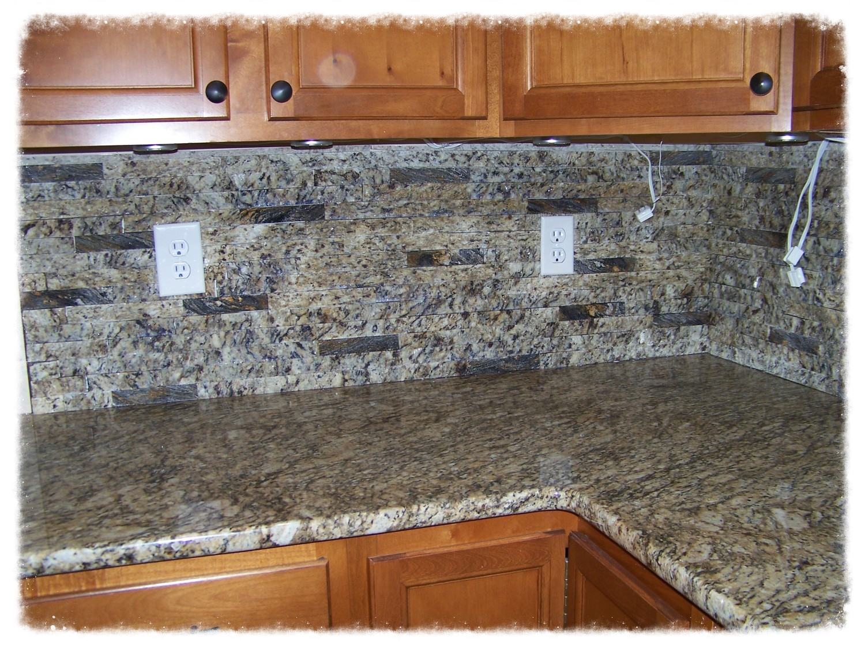- Granite Kitchen, Bathroom, & Fireplace Backsplash — Granite
