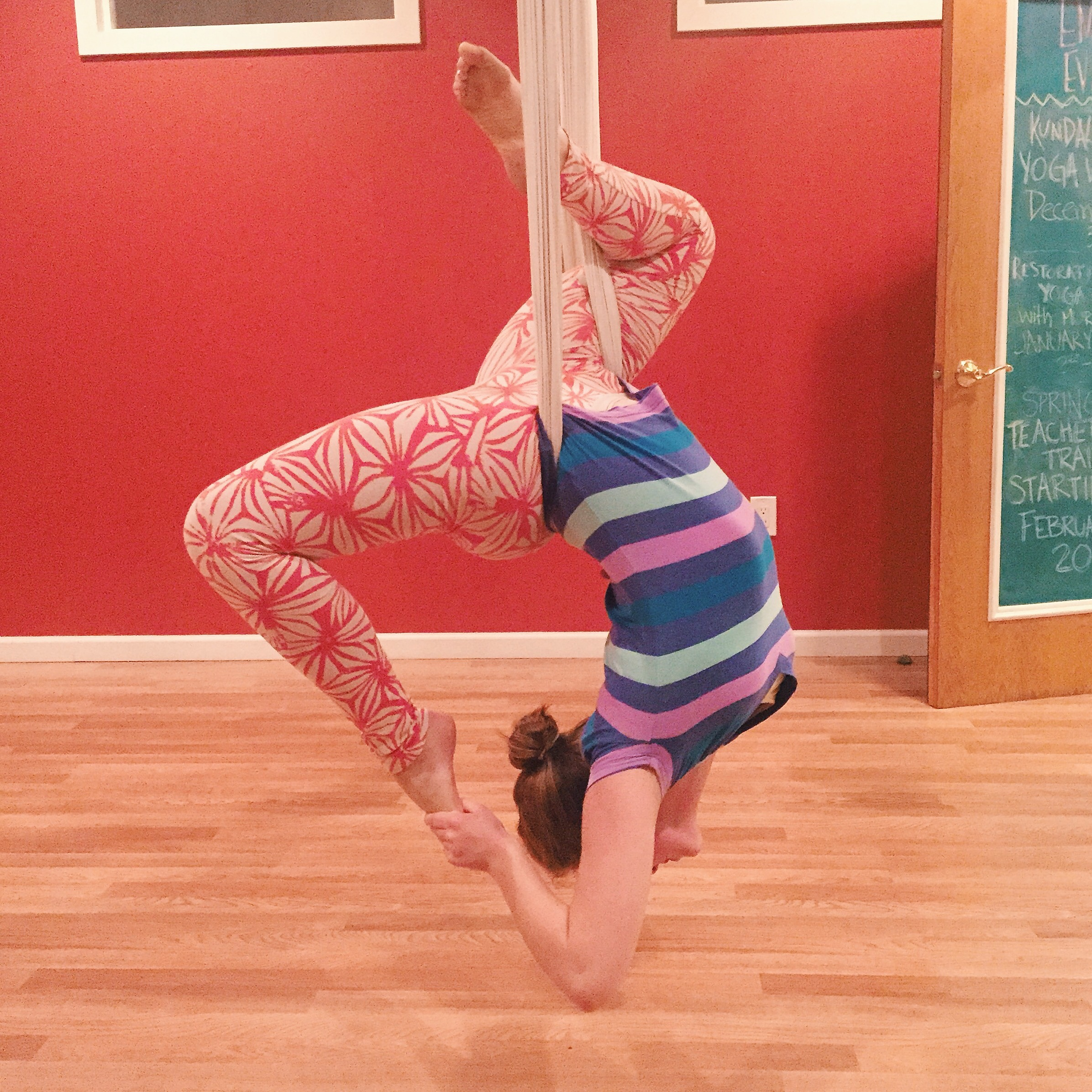 a version of myself in 2014, who would be horrified to know that in the future I would have a change of priorities that would take a way a good chunk of my back flexibility