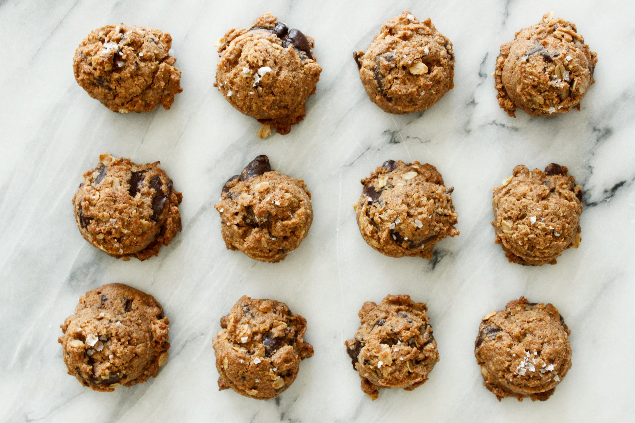 GF/Vegan Chocolate Chip Cookies