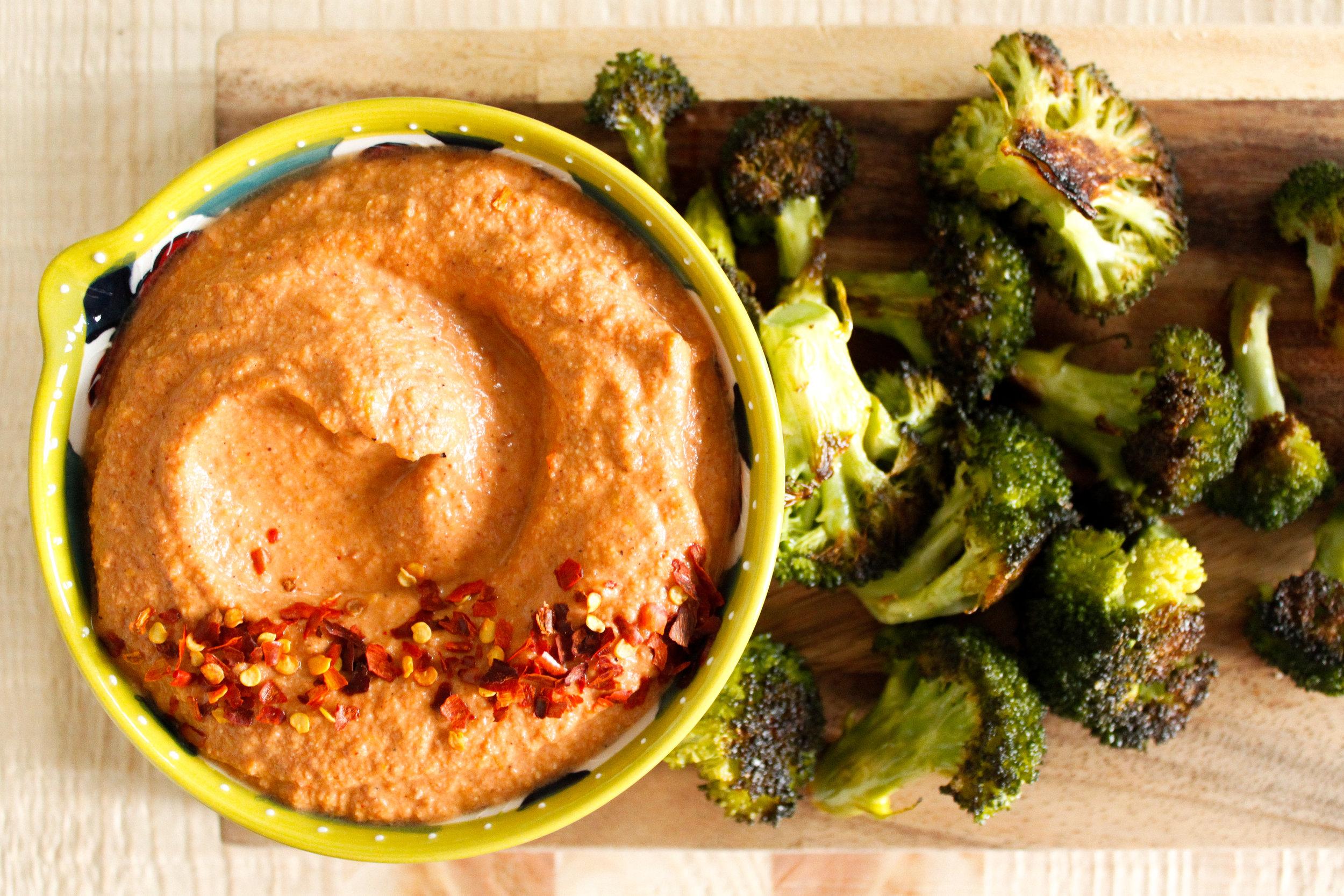 Vegan Pecan Romesco