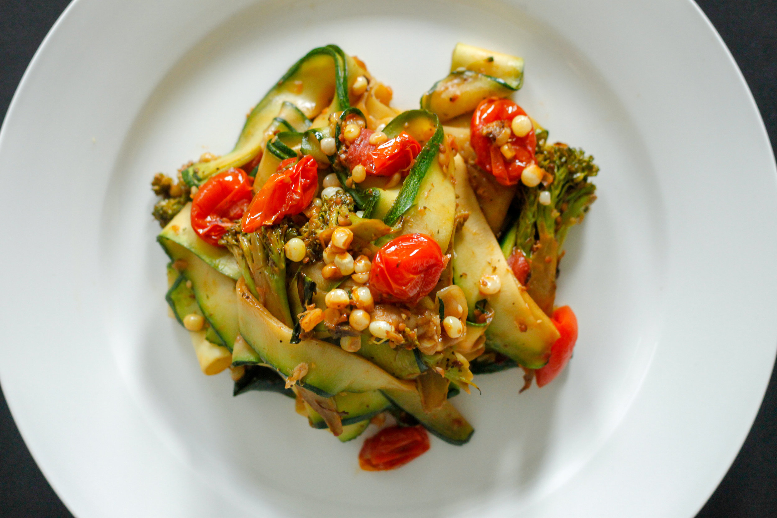 Summer Zucchini Pappardelle