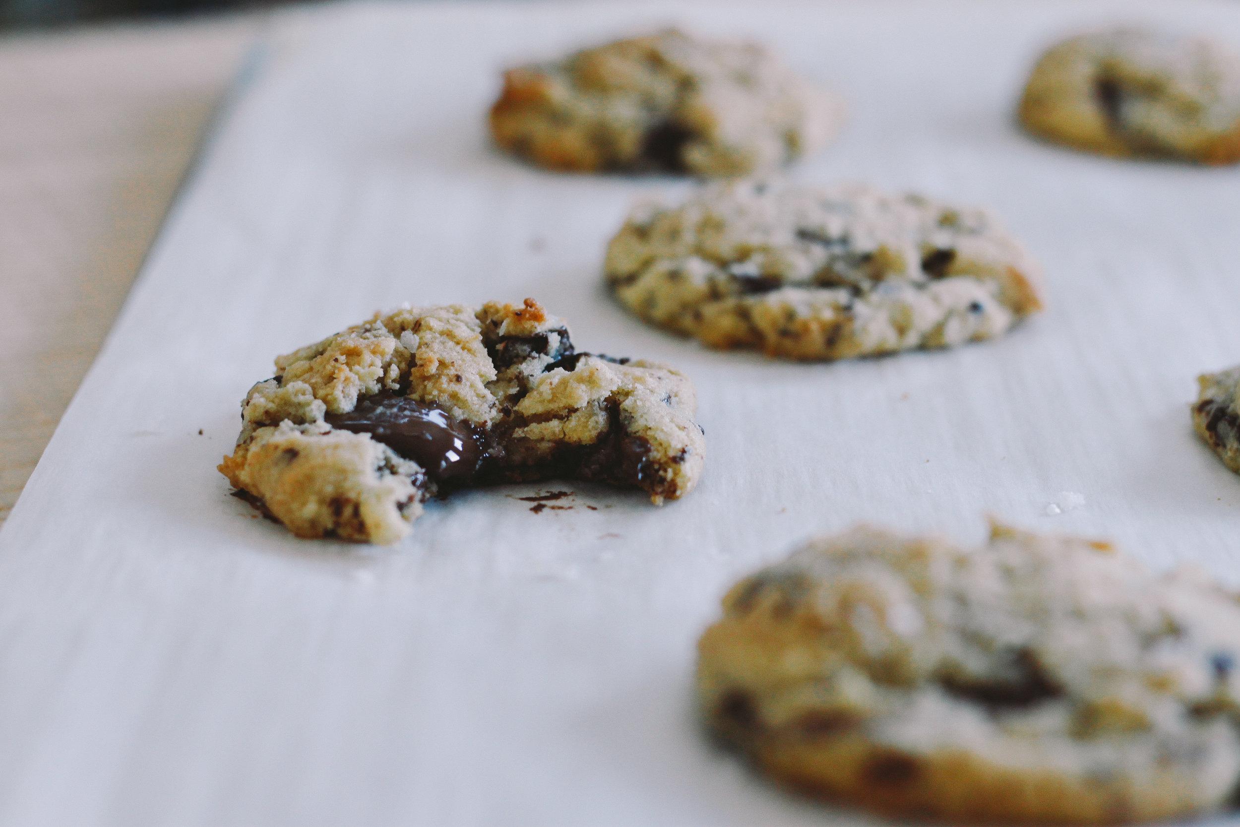 Weekend Chocolate Chip Cookies
