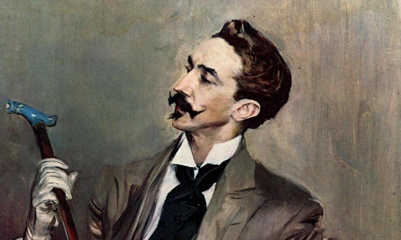 Portrait of Robert de Montesquiou  (1897) by Giovanni Boldini.  Courtesy Wikipedia