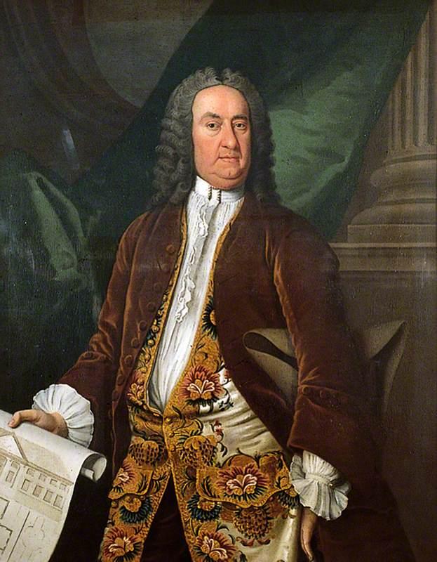 Richard Beau Nash, 1745, by William Hoare