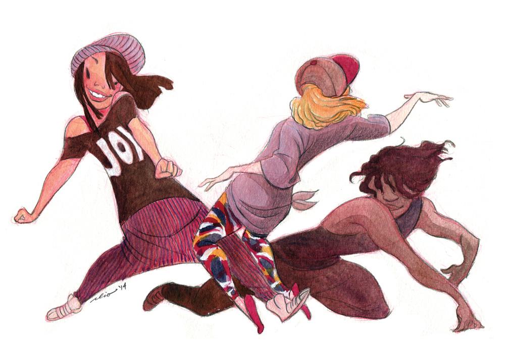 Dancers in Noho