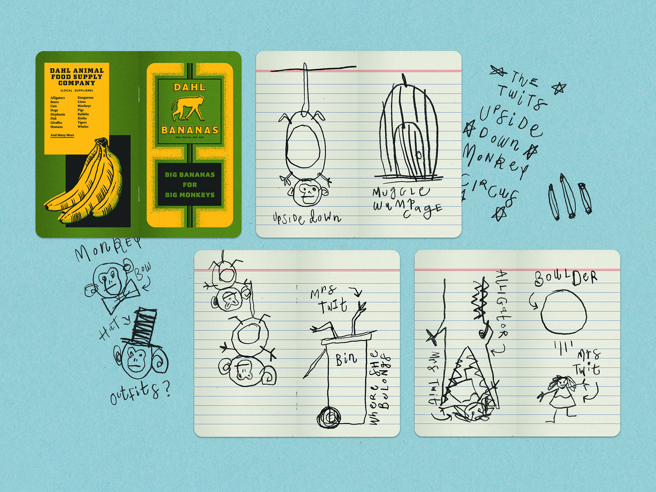 Mr. Twit's Notebook