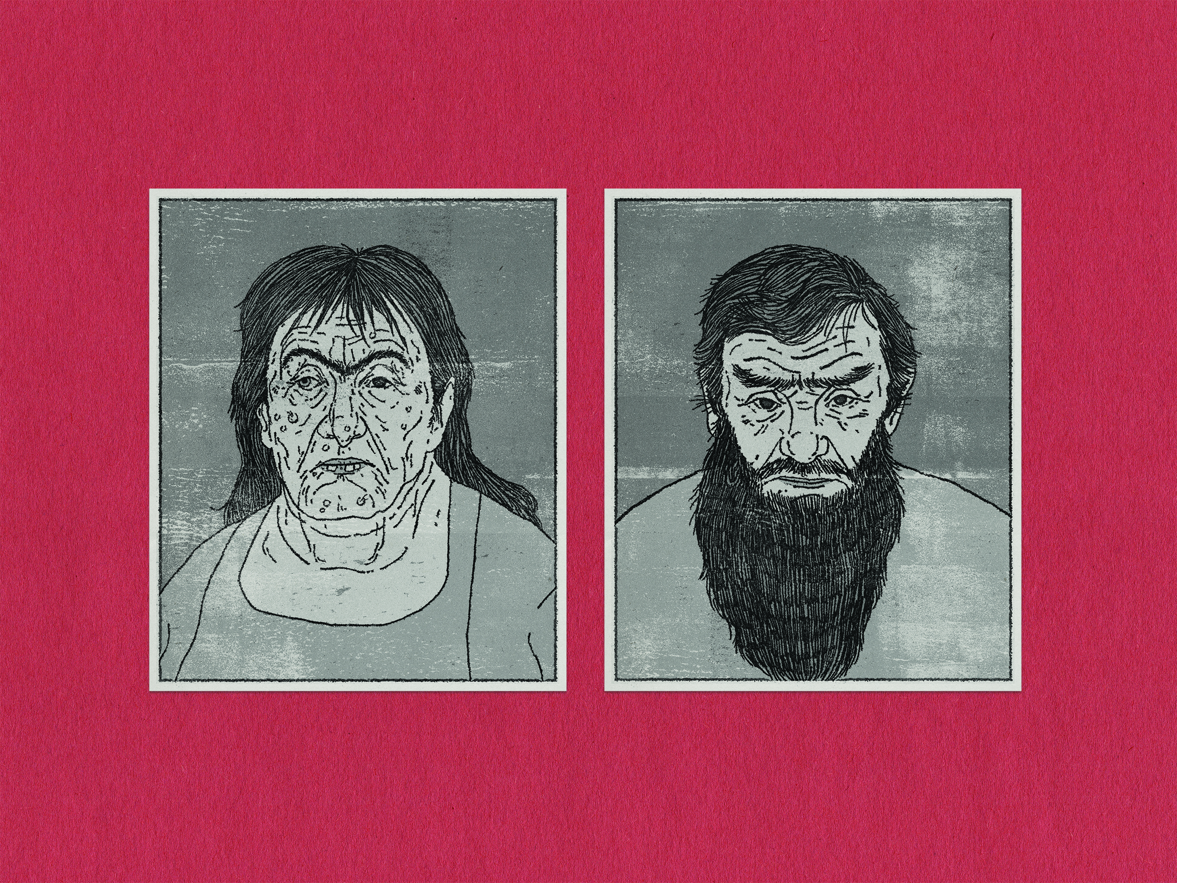 Portraits of The Twits