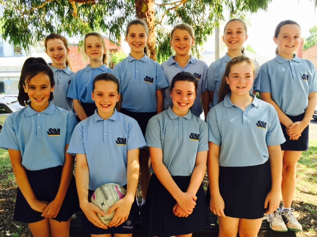St Mary's all stars - under 11 team - finished top of the ladder in 2014