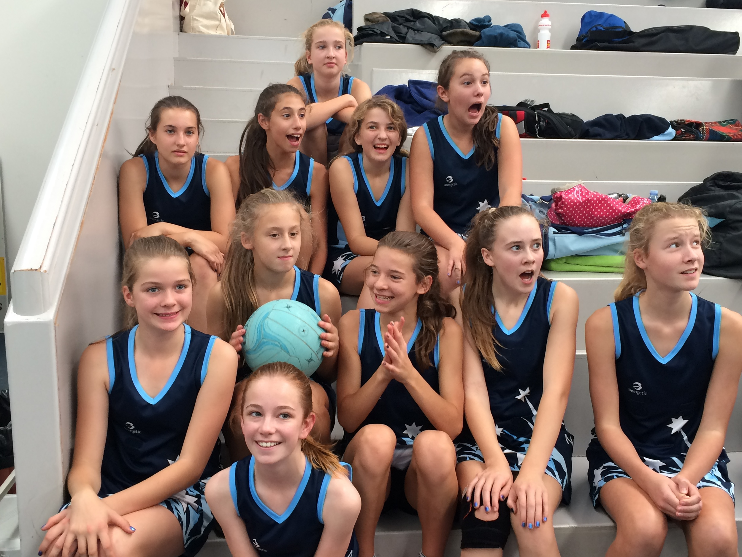 The Under 13 Team 2 reacts to hearing that they have made the finals!!