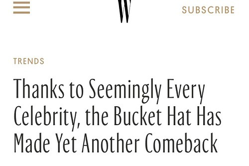 Glad to see @wmag has realized what @crazy4aday knew all along... #BucketHats are the 💣 for #FunInTheSun this #Summer. Check out their article and some of the #ItGirls wearing them. Then hop over to our site [linkinBio] and get your #OneOfAKind hat and rock it on  the #beach, or by the #pool. #WMagazine #fashion #handpainted #buckethats #model @kyliejenner @gigihadid @kendalljenner @wmag #vogue #streetwear #beachwear #fashionista