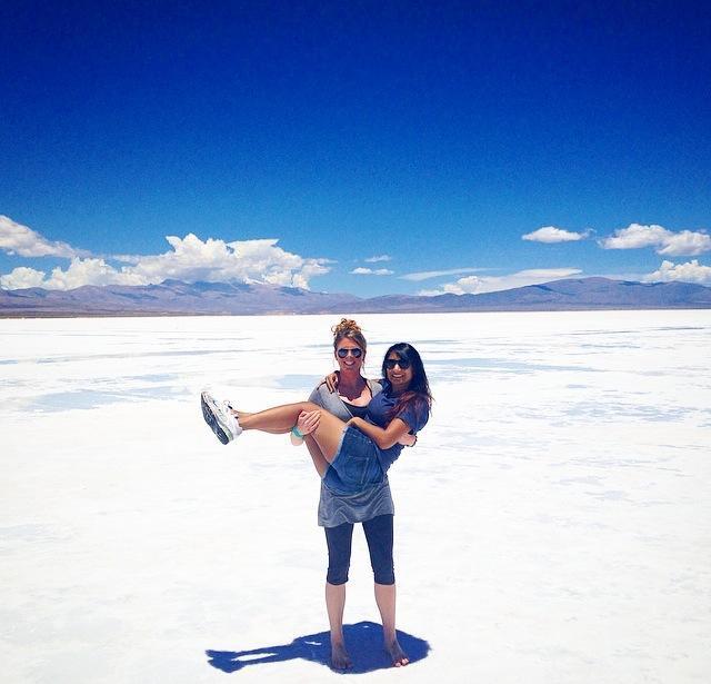 The endless salt planes outside of Salta