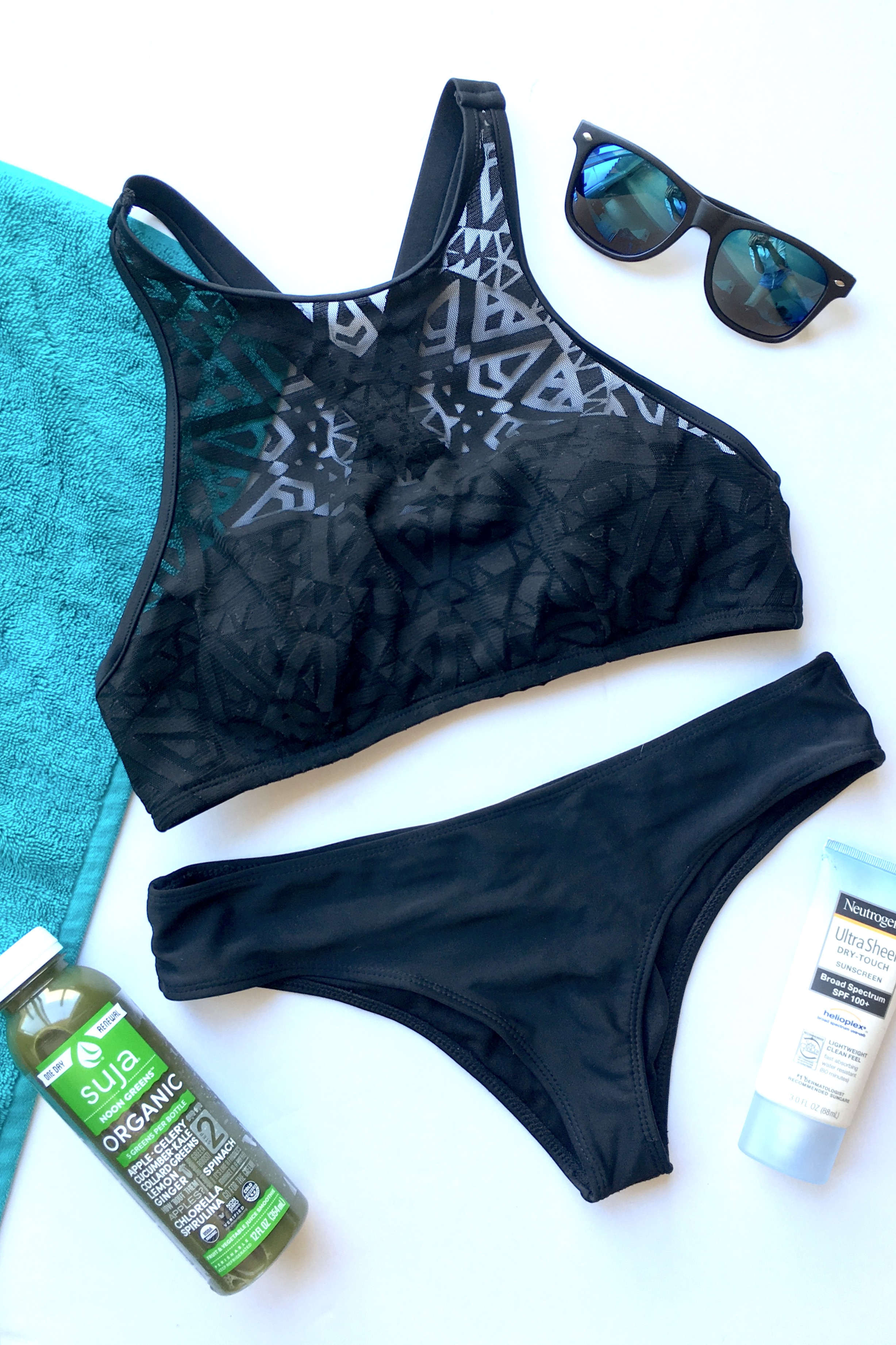 High Neck Swimsuits