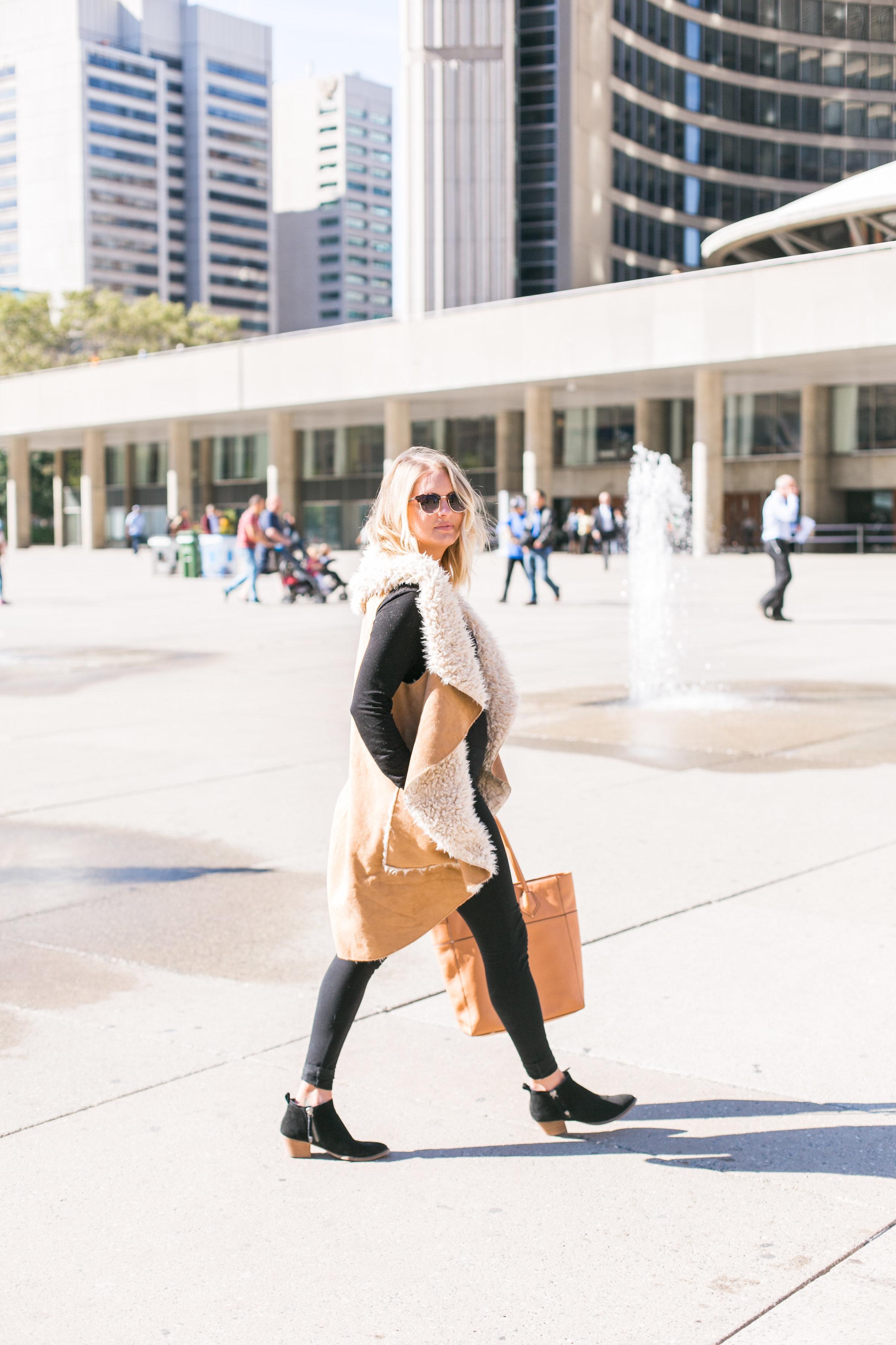 Sheepskin Fall Fashion