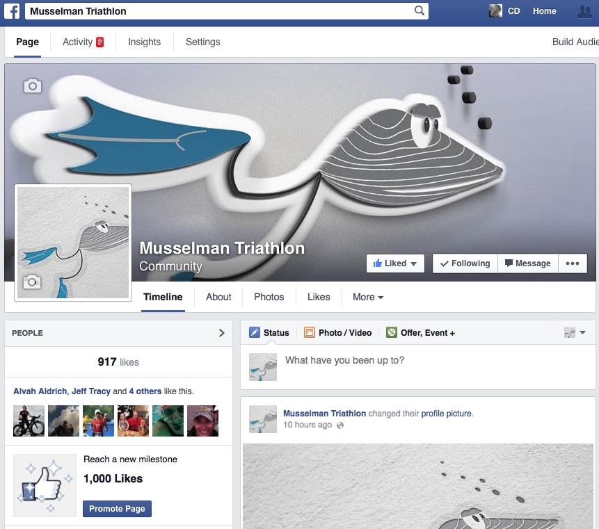 Musselman Triathlon via Facebook