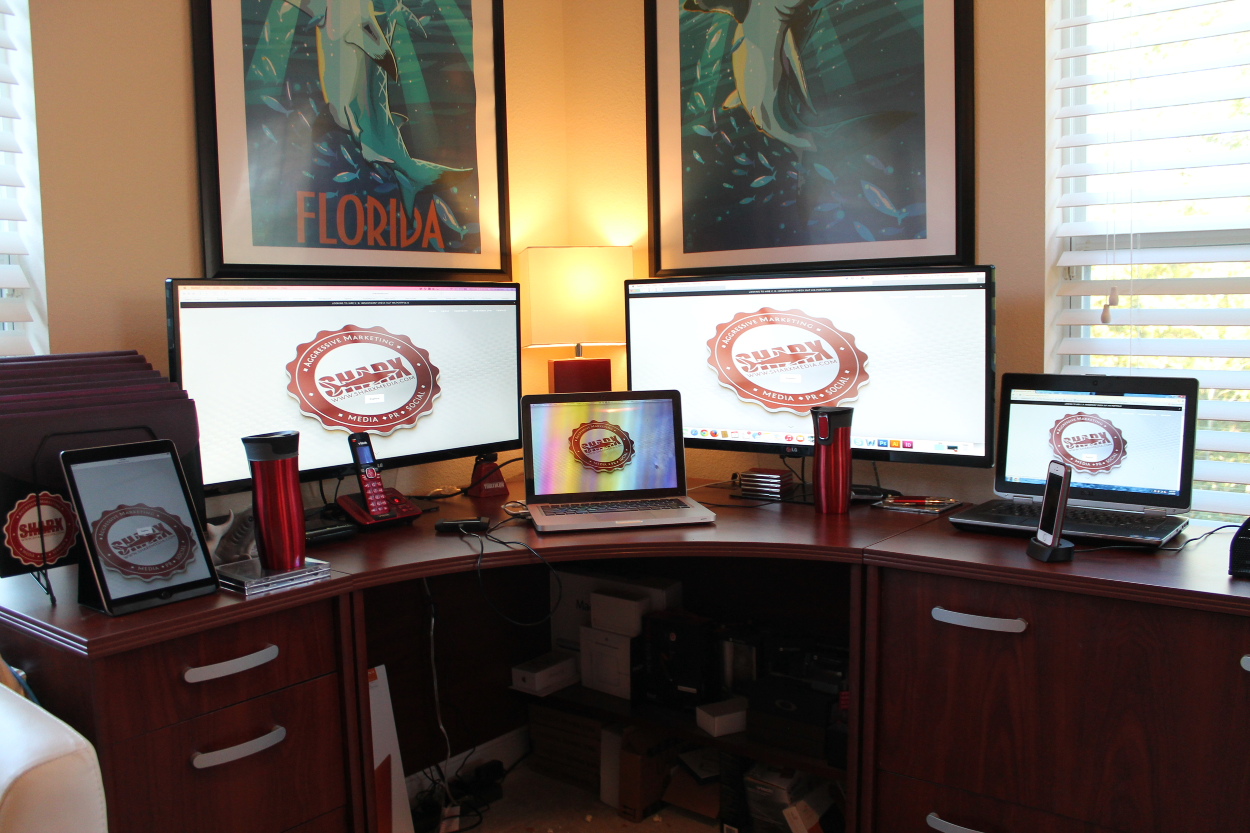 CLICK HERE TO SEE THE SHARX MEDIA 'SOCIAL MEDIA COMMAND CENTER'