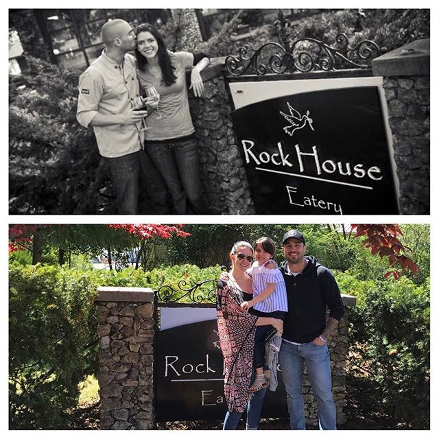 Happy Mother's Day to my daughter's mother ( and my sweet and amazing mom, of course ❤️ )  I've waited to post this and thought today was a perfect day.  8 years ago I was living in Alabama with my daughter's mom and we had just opened our restaurant, The Rock House Eatery.  It was a beautiful journey. The top picture was taken during our grand opening in June 2009.  Well, the beautiful journey quickly took a turn for some very dark and challenging times.  I became addicted to prescription pain pills while she was pregnant with our daughter. After 7 months of extremely heavy pain pill abuse I overdosed one day on a cocktail of several drugs and found myself in the back of an ambulance heading to the ER.  That's how my family and my pregnant partner discovered I was addicted to pain pills.  I went to rehab and although it helped detox from the pills in my system, it didn't do much to address the root cause of the addiction and help heal the pain within.  I relapsed shortly after my daughter was born and immediately went back to rehab- this time for about 30 days.  It was after this that my daughter's mom felt it would be best to move back to Oregon to have support from family while I was seeking the necessary rehabilitation to get healthy. I was away from my daughter for about a month during this time. I was a mess. It was one of the hardest things I've ever been through- and I've been through some heavy stuff... Once I finished the rehabilitation program I left my family and restaurant and home in Alabama to move out to Oregon and start my new life as a father.  It was rough. Not just for me but for us all. Those first 6 months presented challenge after challenge and then suddenly my father died and completely rocked my world again.  The next few years were full of intense personal development work as well as healing the wounds I had caused others. - con't in comments -----
