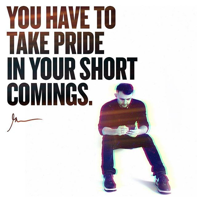@garyvee always brings the 🔥 your short comings are gifts in disguise. Acknowledge them and embrace them. Then work your ass off to overcome them so you can accomplish your goals and dreams. Don't let anything stop you.  #rare #life #goodlife #goodvibes #garyvee #happiness #goals #success #growth #mindset