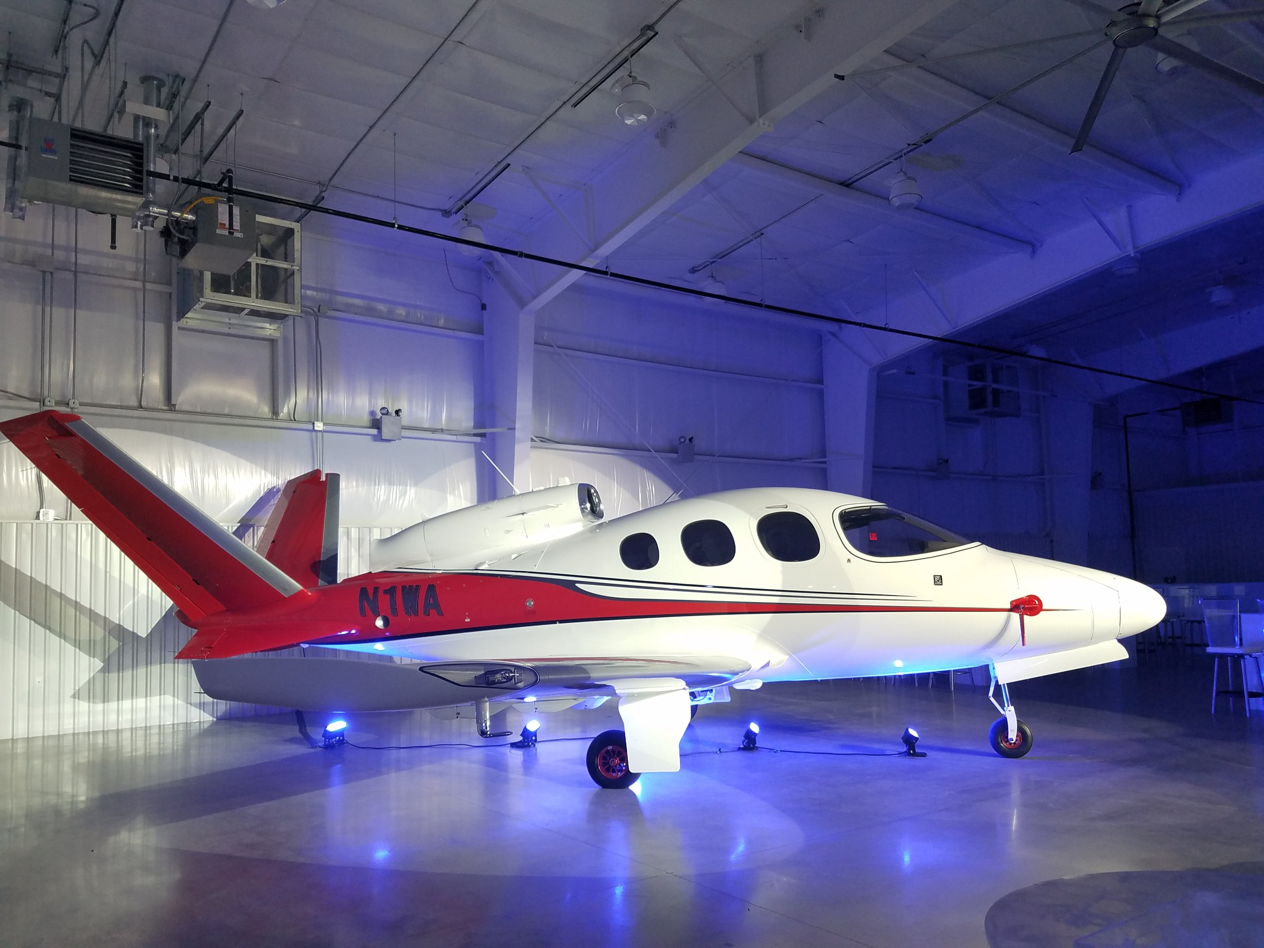 1st Customer Vision Jet Delivered