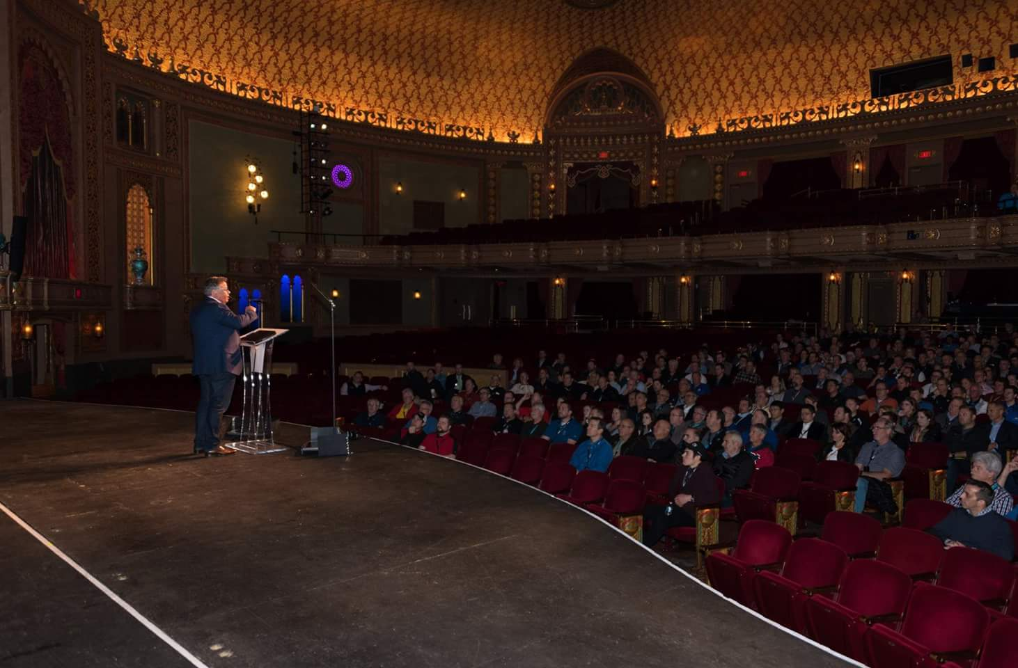 Keynote Speaker at Tennessee Theater