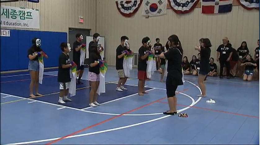 Segment of Sejong camp from fox5