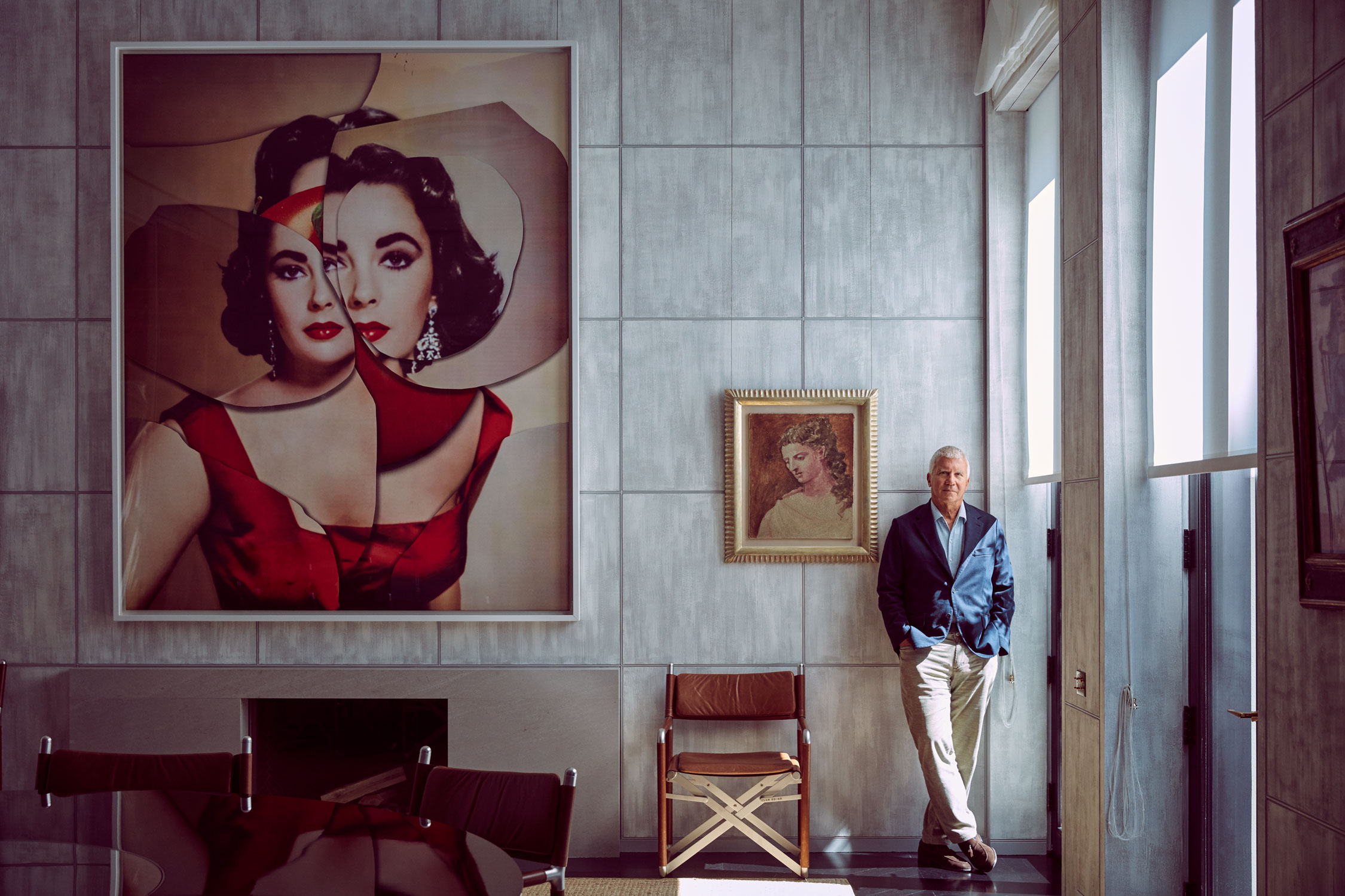 Larry Gagosian for  Vanity Fair