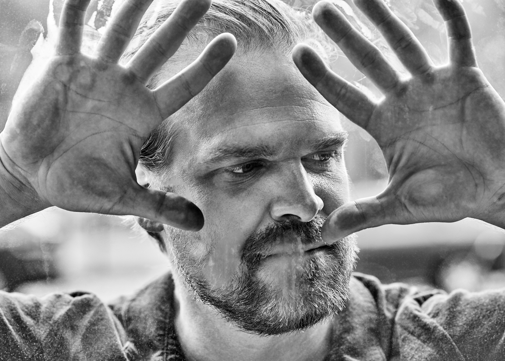 David Harbour for  NUVO