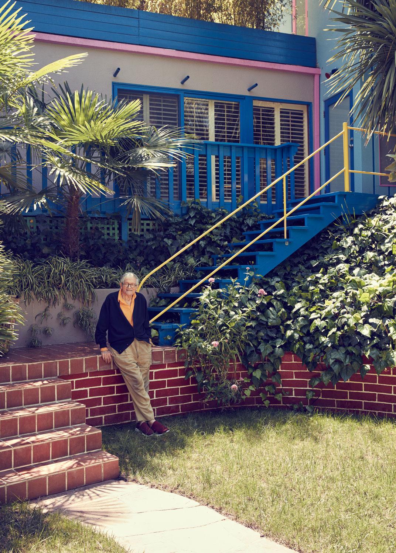 David Hockney for  Esquire
