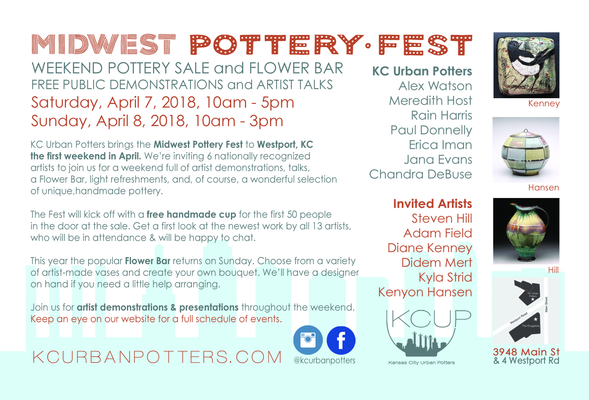 midwest pottery fest kansas city
