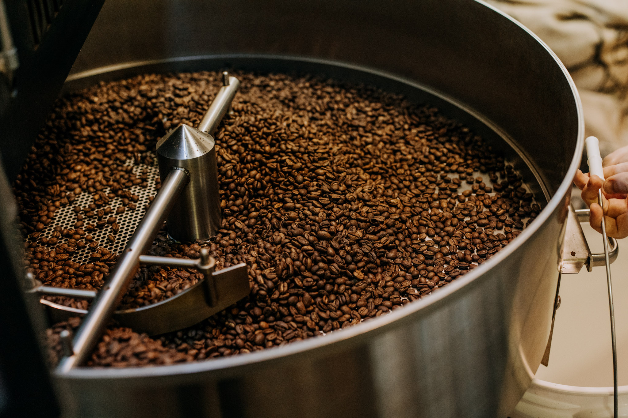 Signature Roasts - We love working closely with our various wholesalers and together discovering a coffee that perfectly fits with your individual mission, clientele, taste preferences, and aesthetic. Due to our small batch roasting operation, you have the option to chose an origin or blend that is original to you and roasted to your preferences. Inquire below to ask about setting up a personalized tasting event.