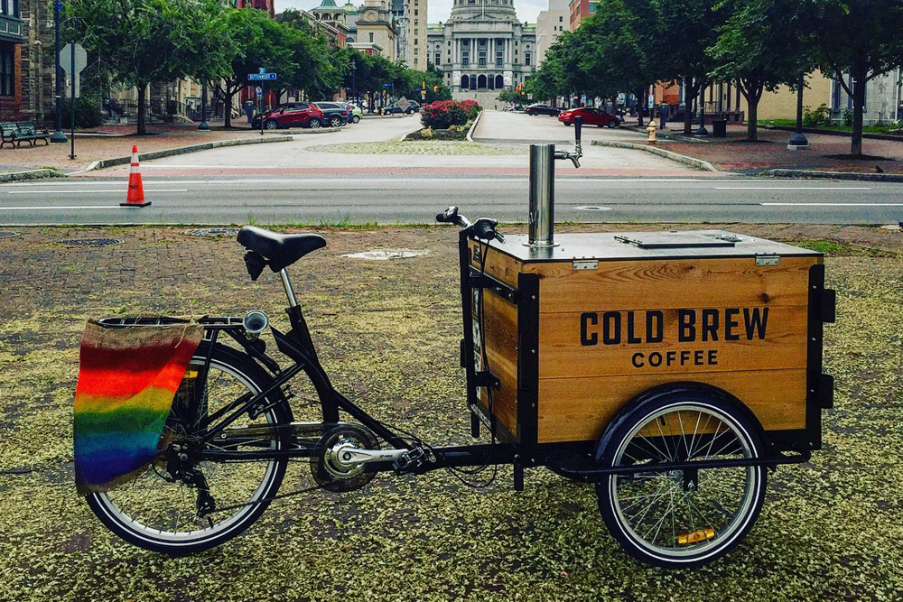 You host, we brew - Whether we roll in on our famous cold brew tricycle, set up a mobile brew bar, or conduct a lecture on coffee and equality, we love to be part of unique festivals, charitable functions, or local panels and community events. We are always up for being part of something new, so hook us up as part of your next shindig!