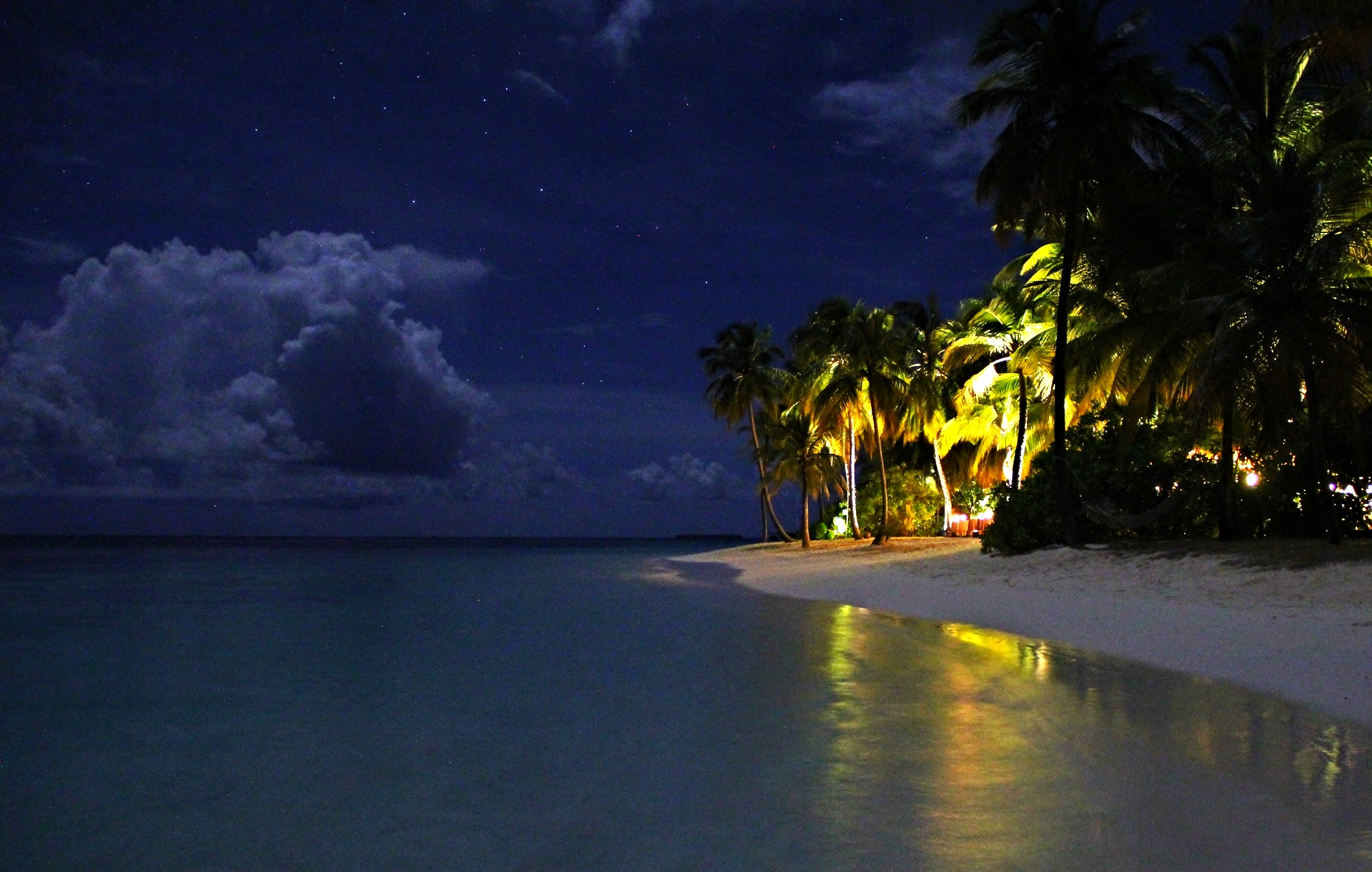 Real life Starlab in the Maldives