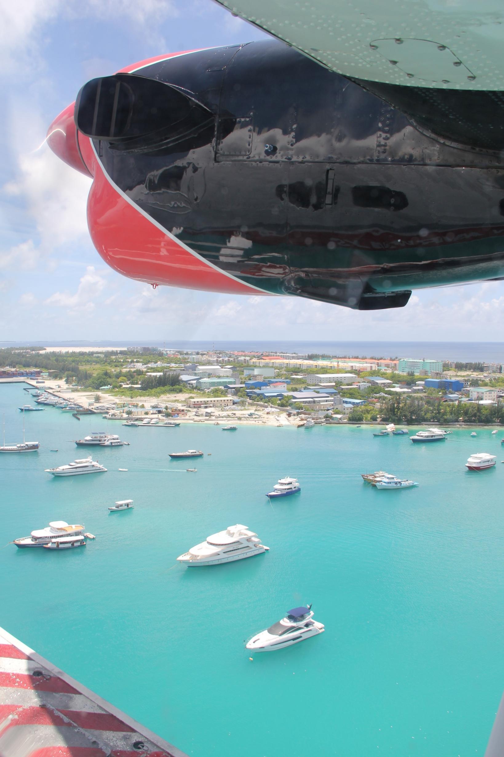 Beyond Ordinary Guides - Sea Plane ride in the Maldives