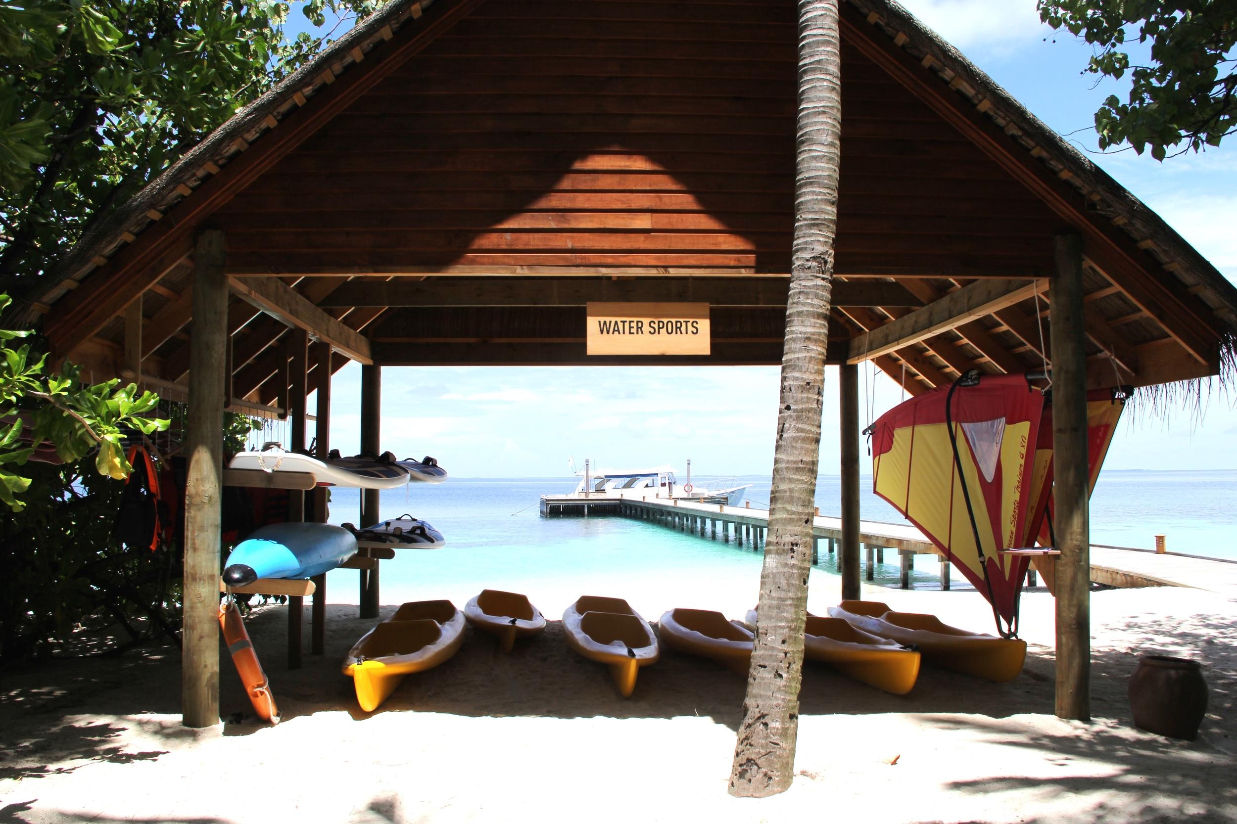 Beyond Ordinary Guides Maldives Mirihi Island Water Sports