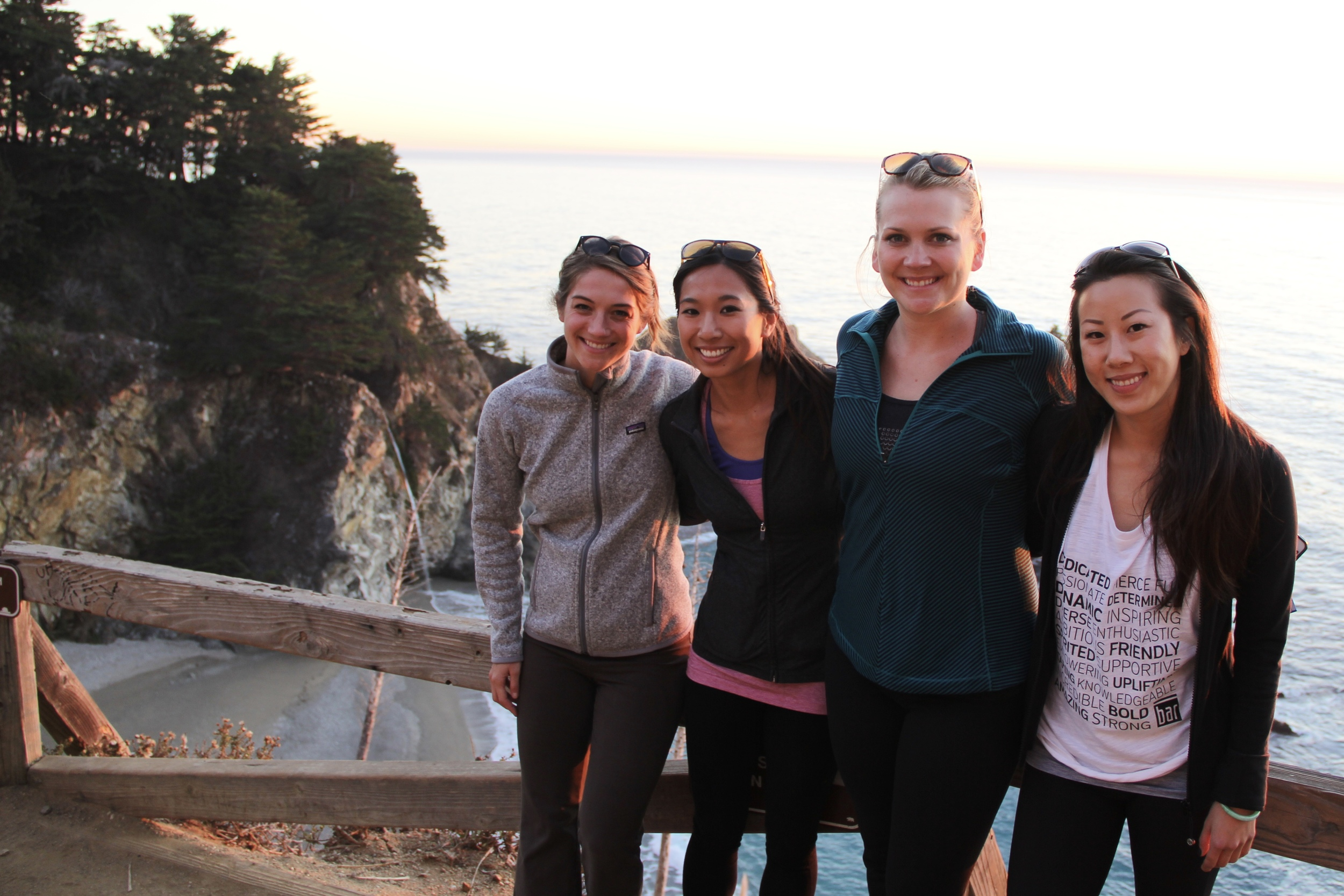 The Power of a Girls Trip | McWay Falls, Big Sur