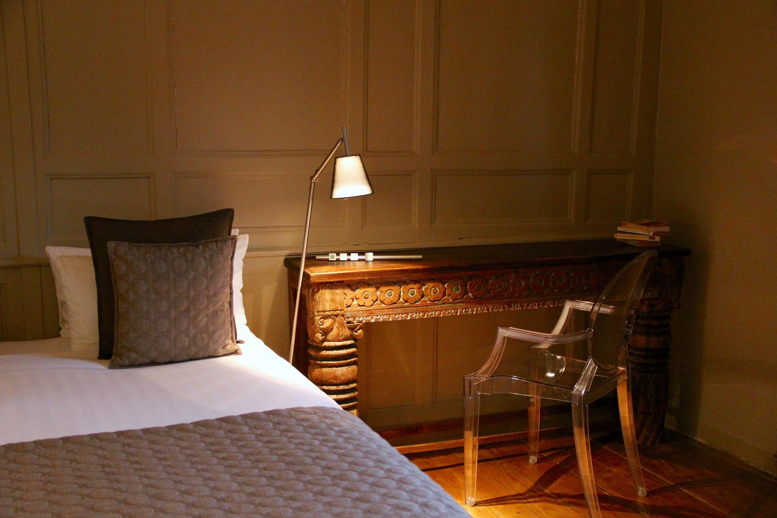 Ankor Room at La Maison Pavie, Dinan, France