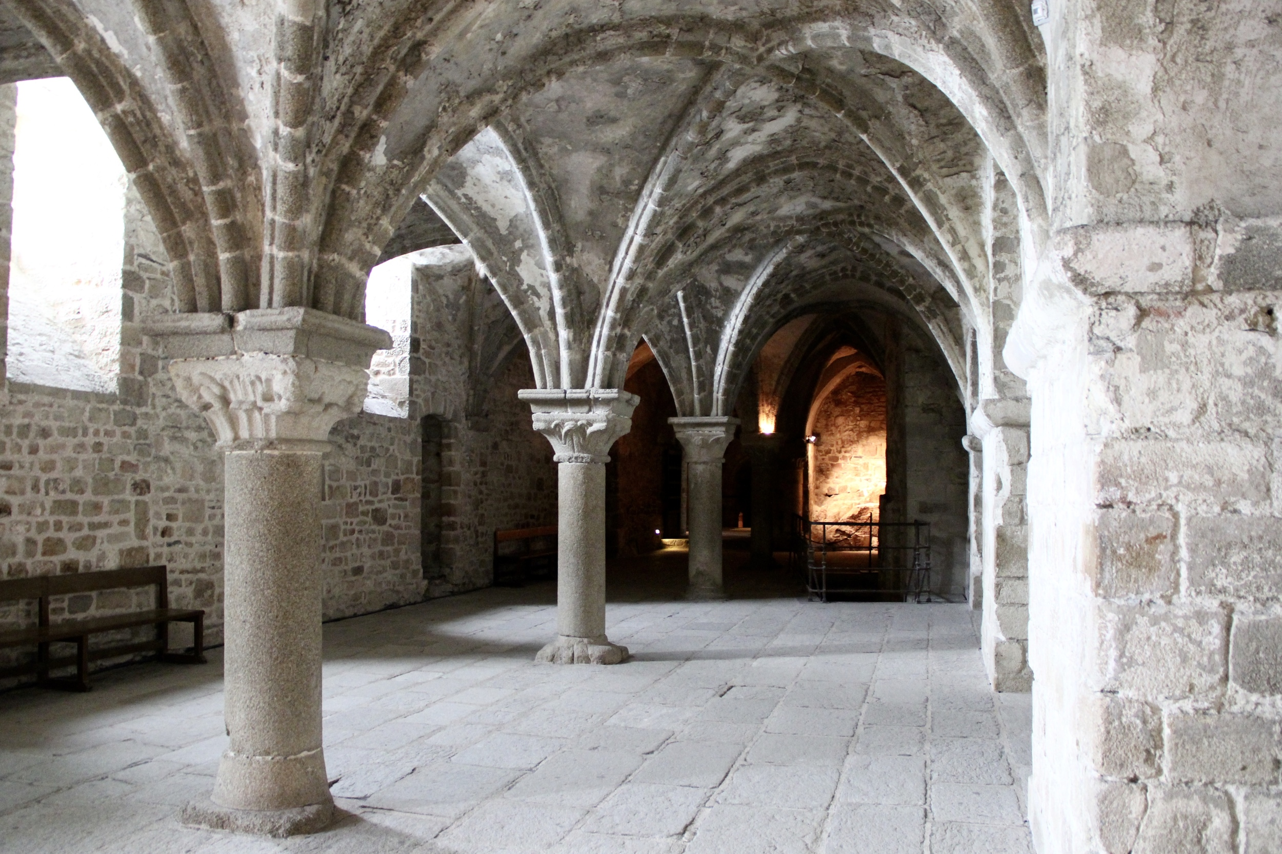 Inside the abbey | Mont St Michel