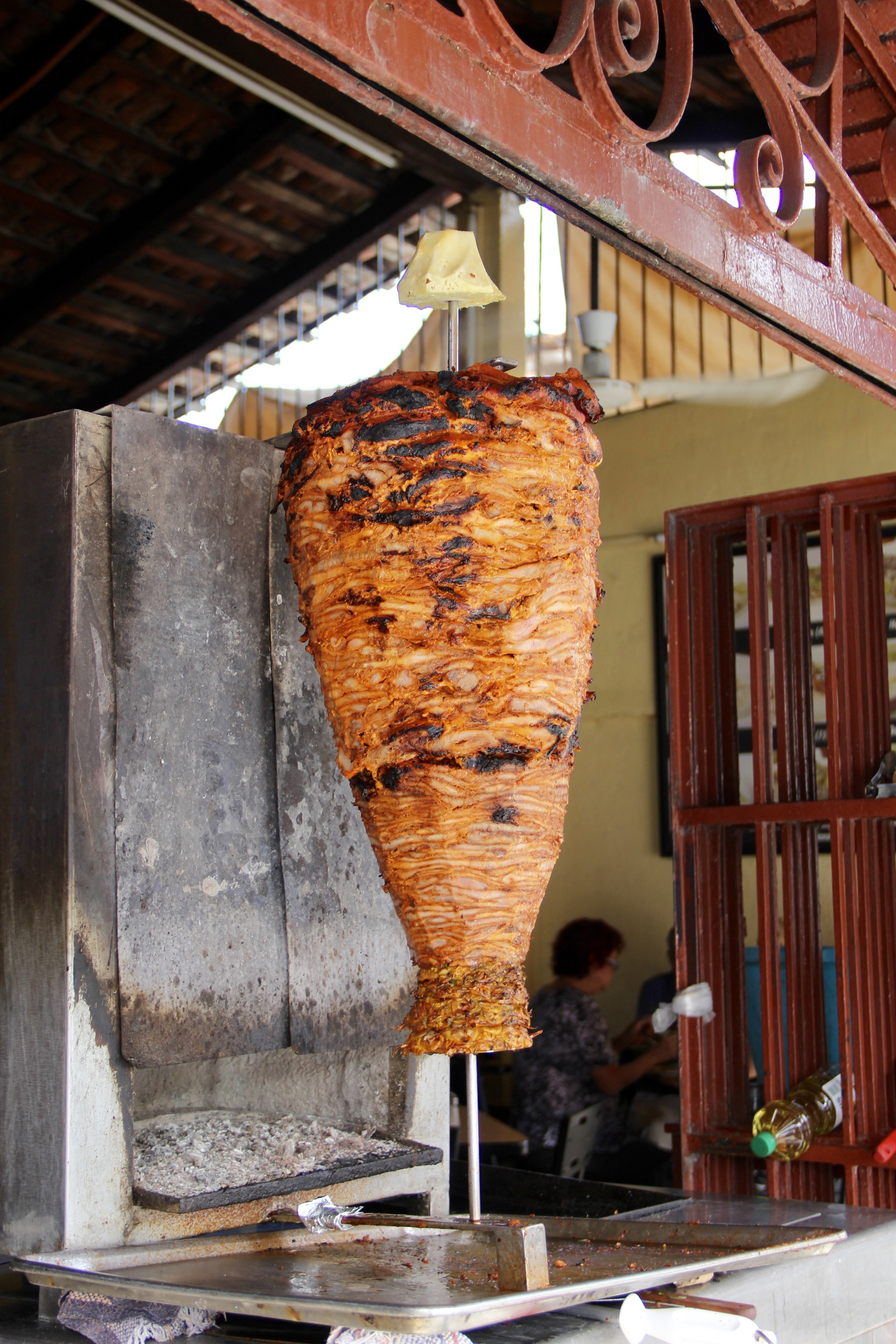 The al pastor at Pepe's Tacos.  Carved straight from the spit to your tortilla.