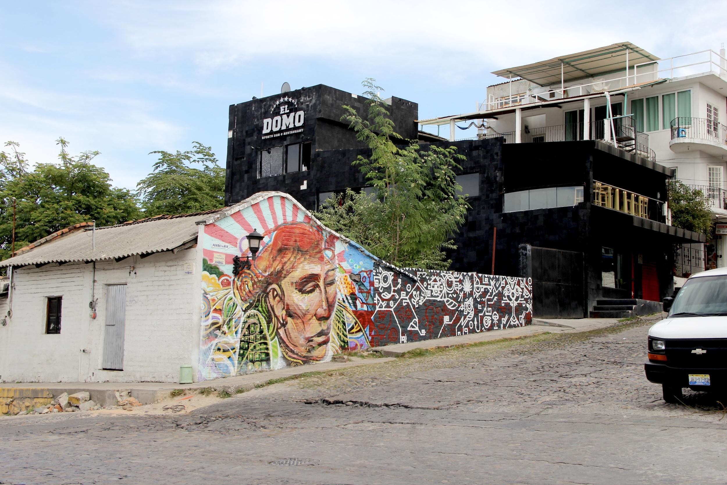 Murals around old town