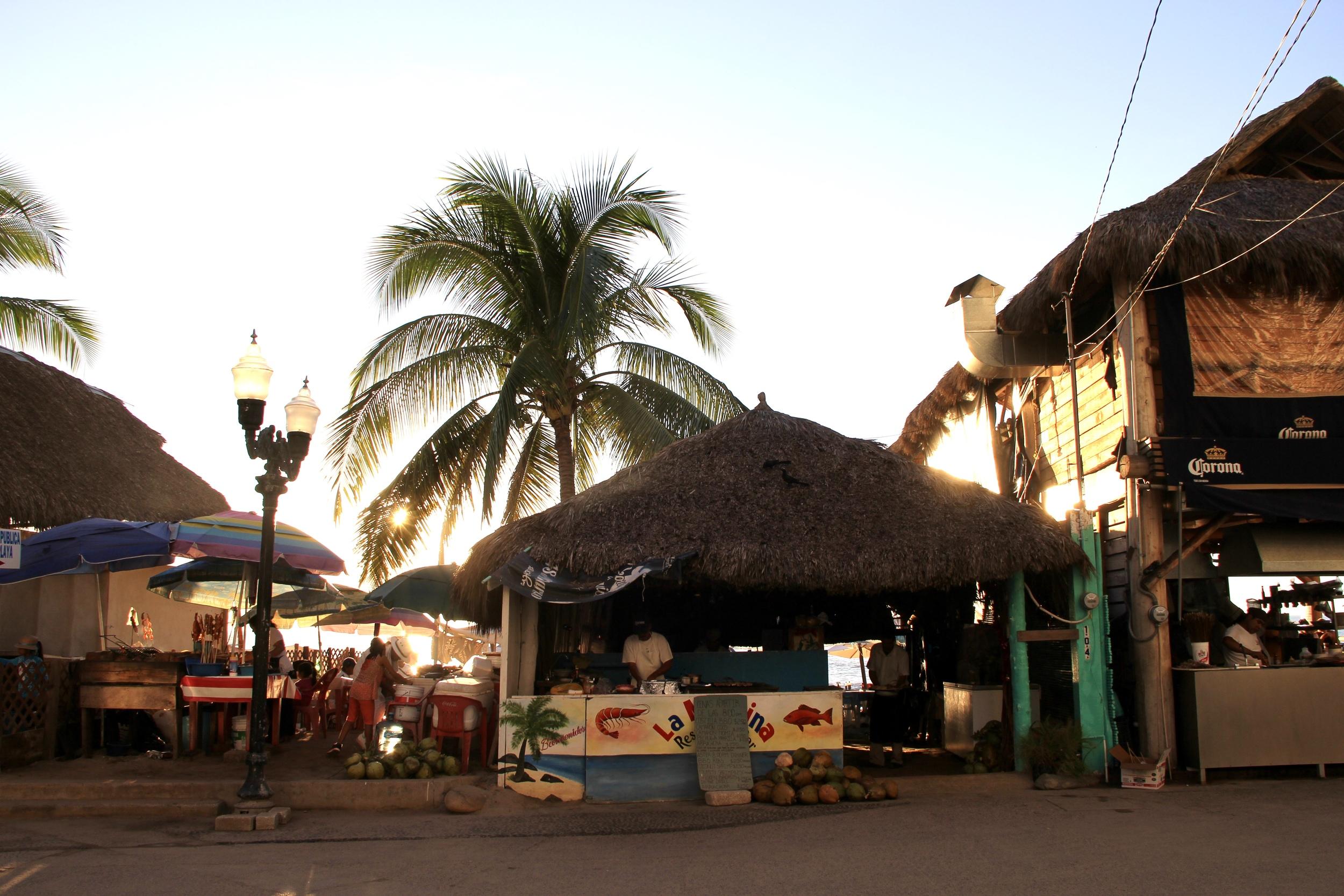 Sunset in Viejo Vallarta