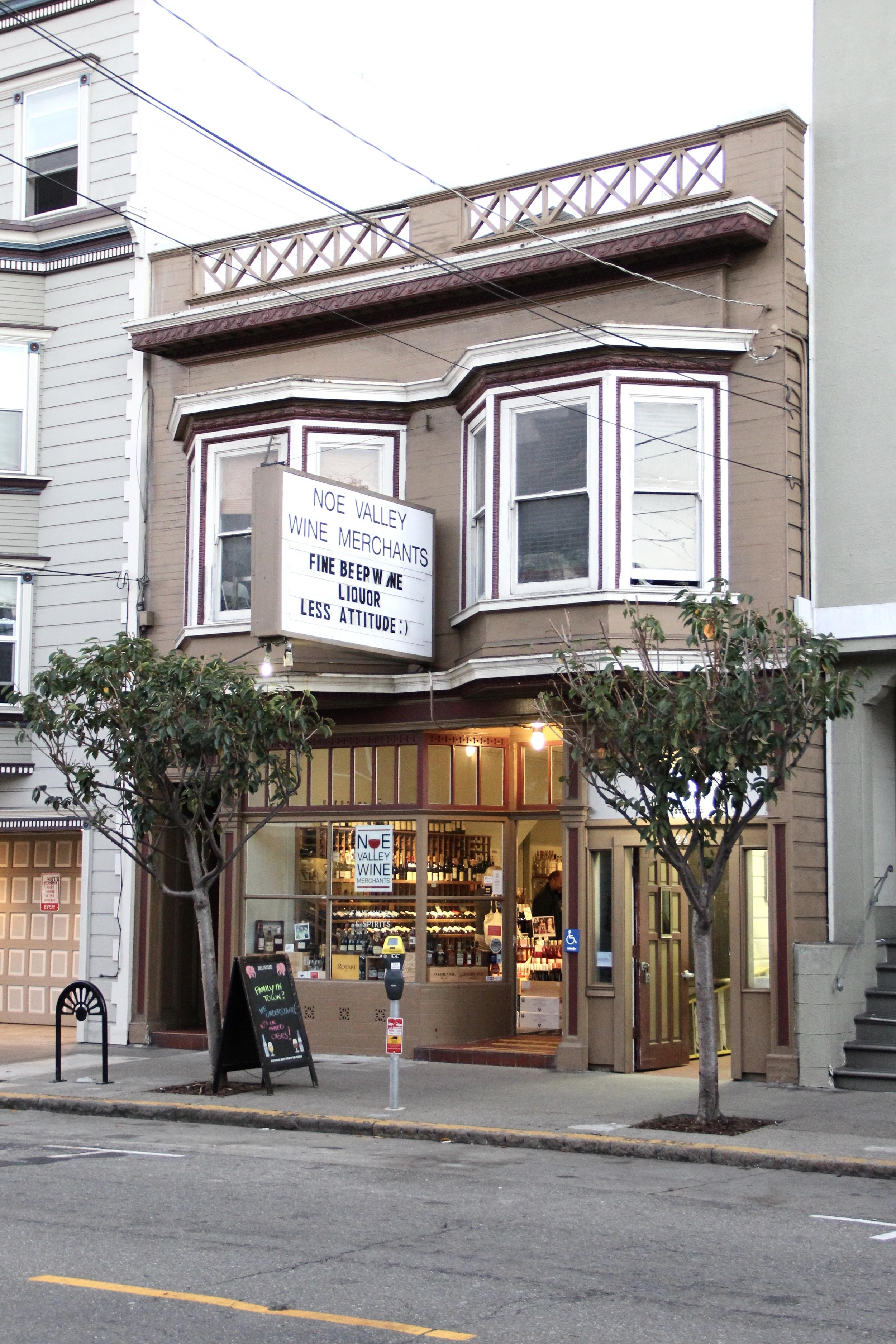 """Fine Beer Wine Liquor, Less Attitude :)"" Noe Valley, San Francisco | Beyond Ordinary Guides"