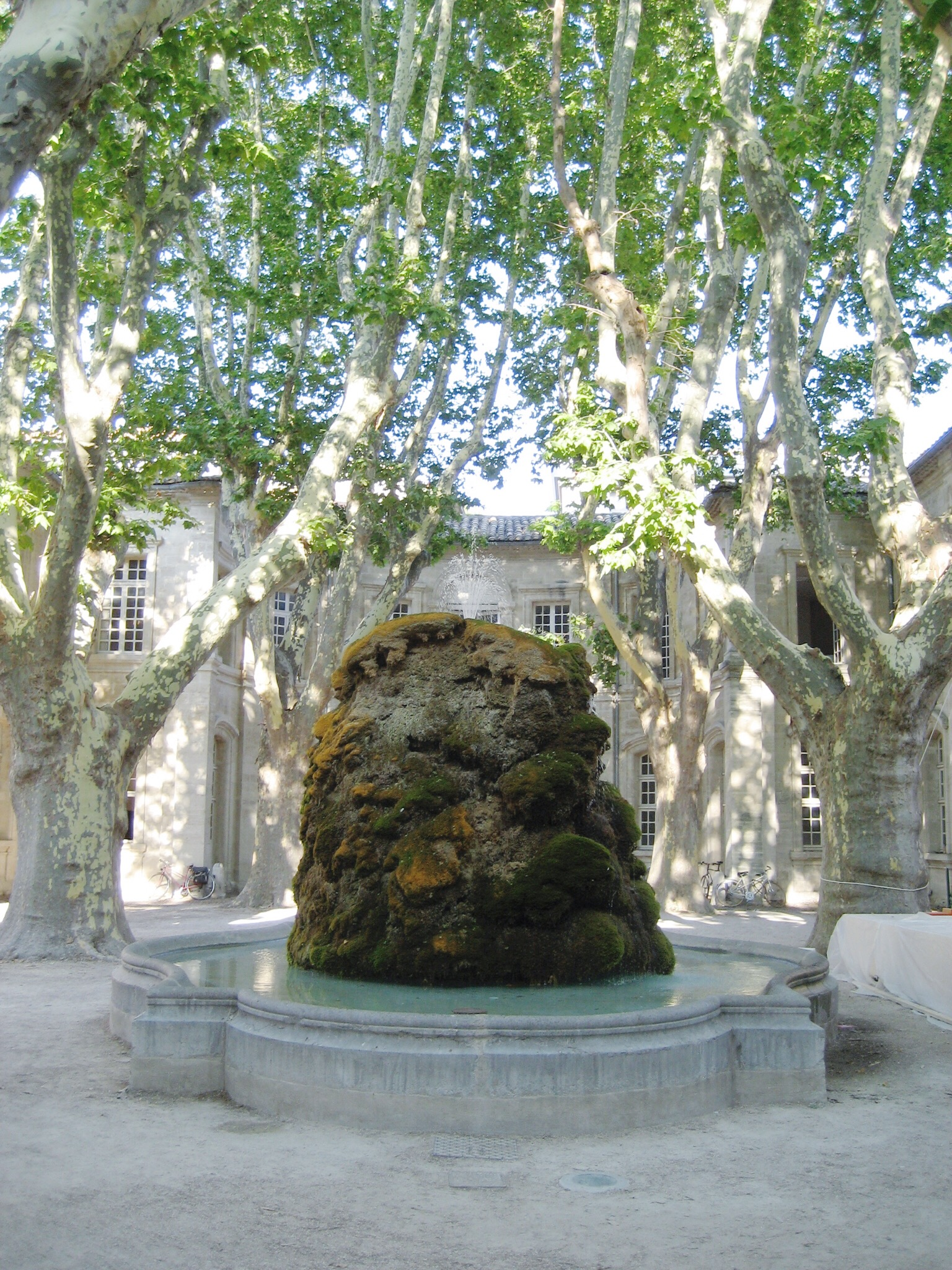 Fountain in the South of France