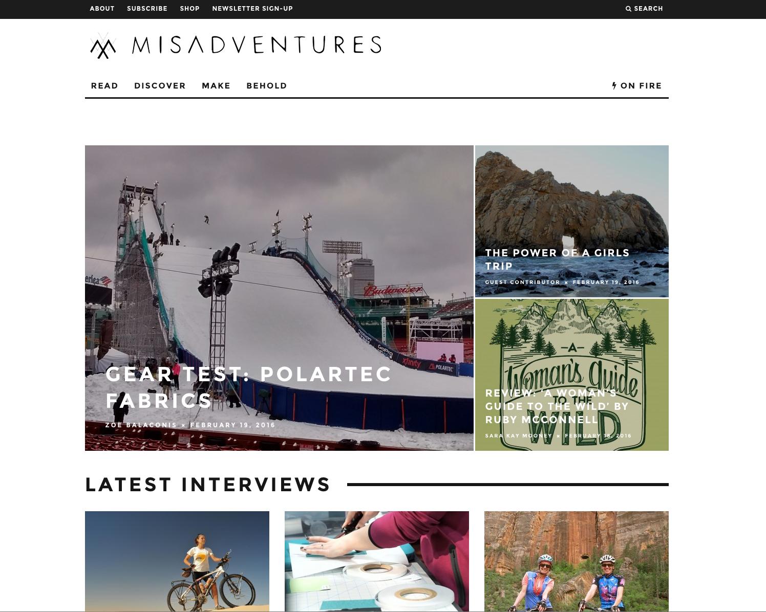 Misadventures Magazine