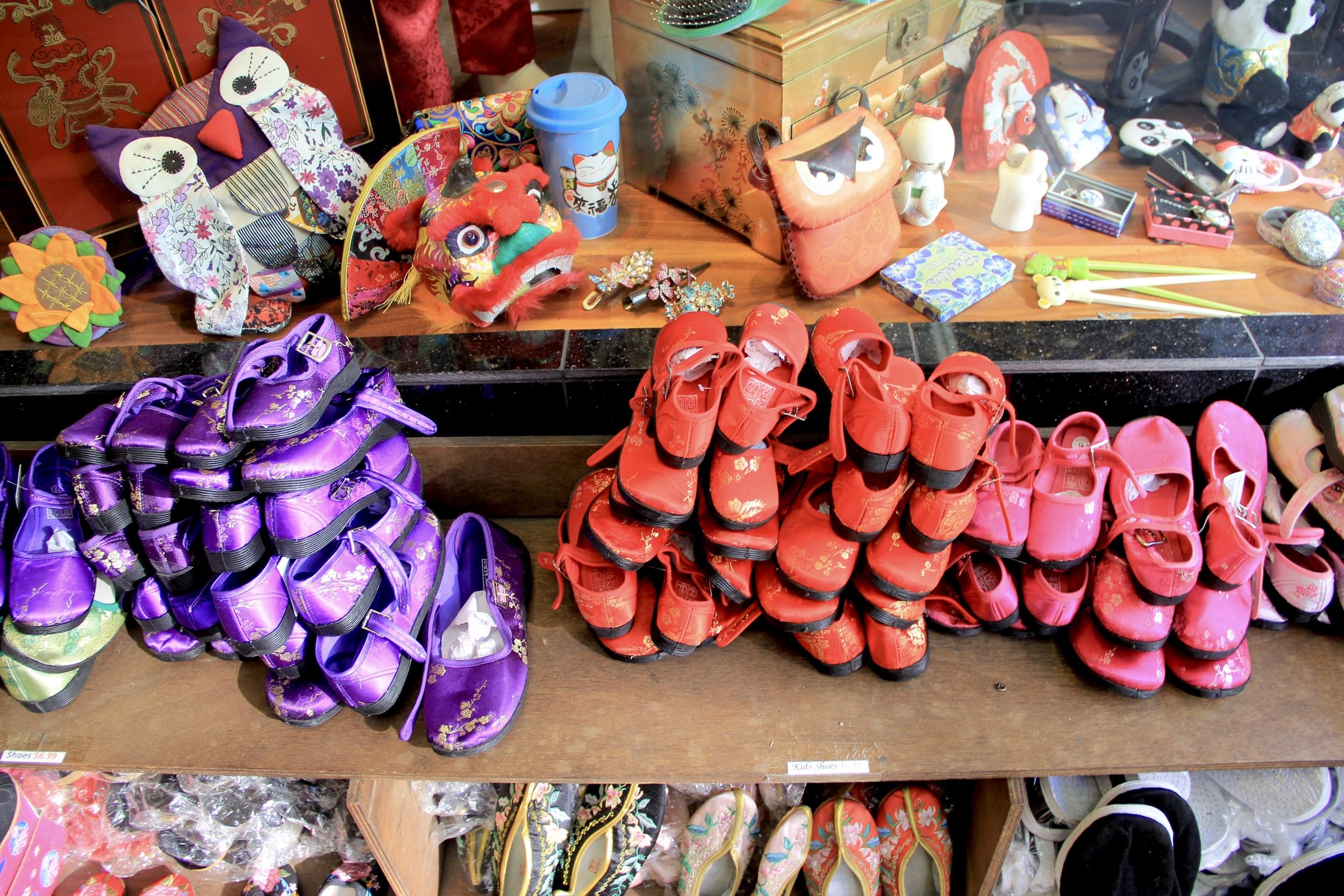 slippers anyone? | Chinatown