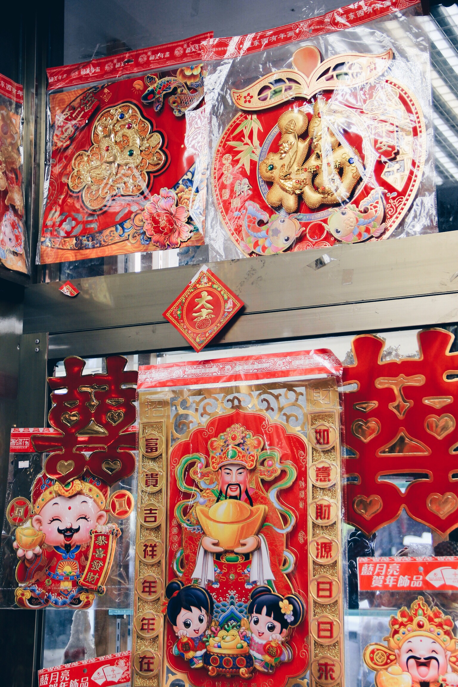 details from Chinatown in San Francisco