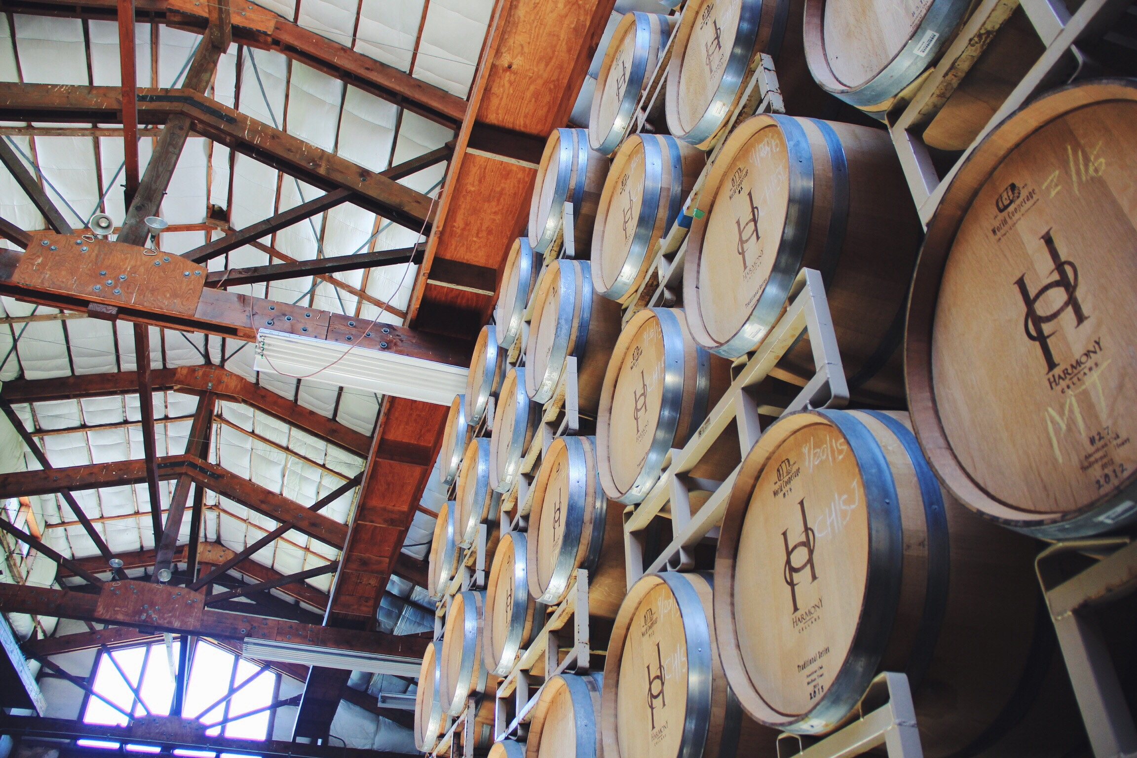 Private tour at Harmony Vineyards in Harmony, CA outside of Cambria