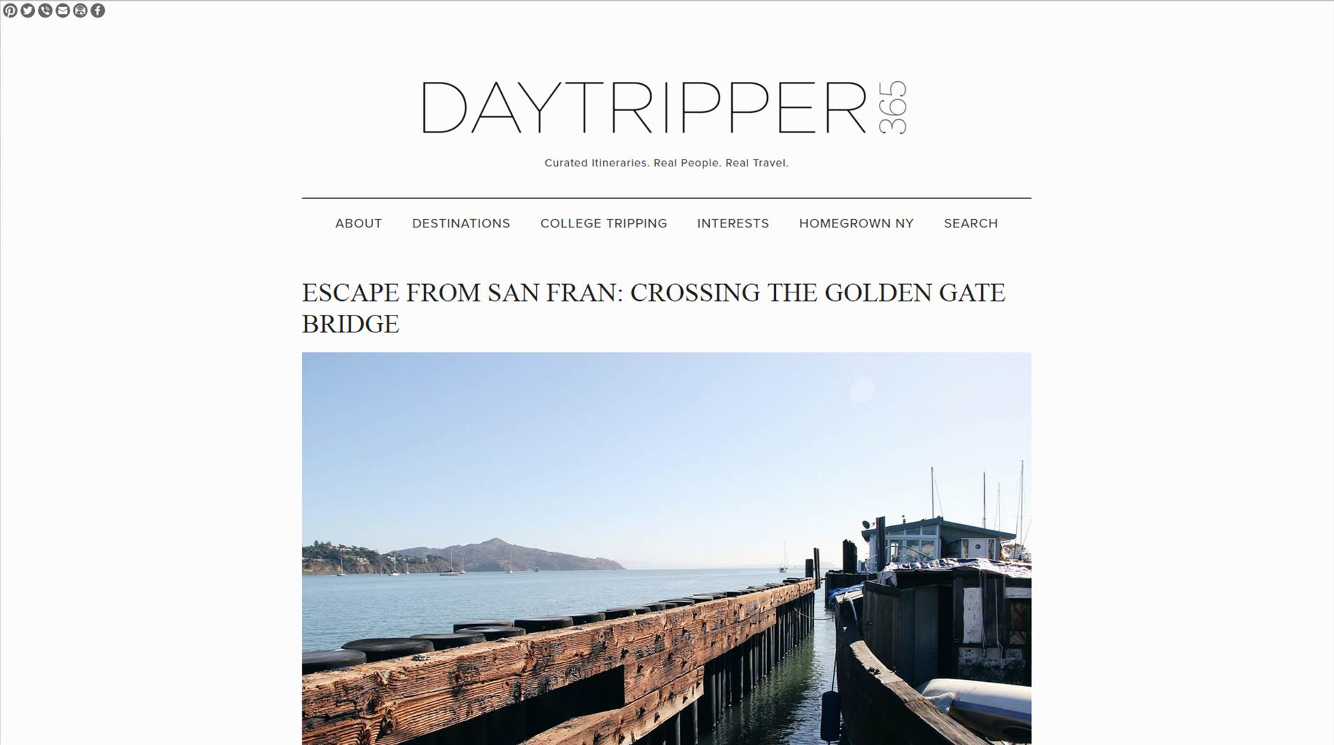 Feature on Day Tripper 365