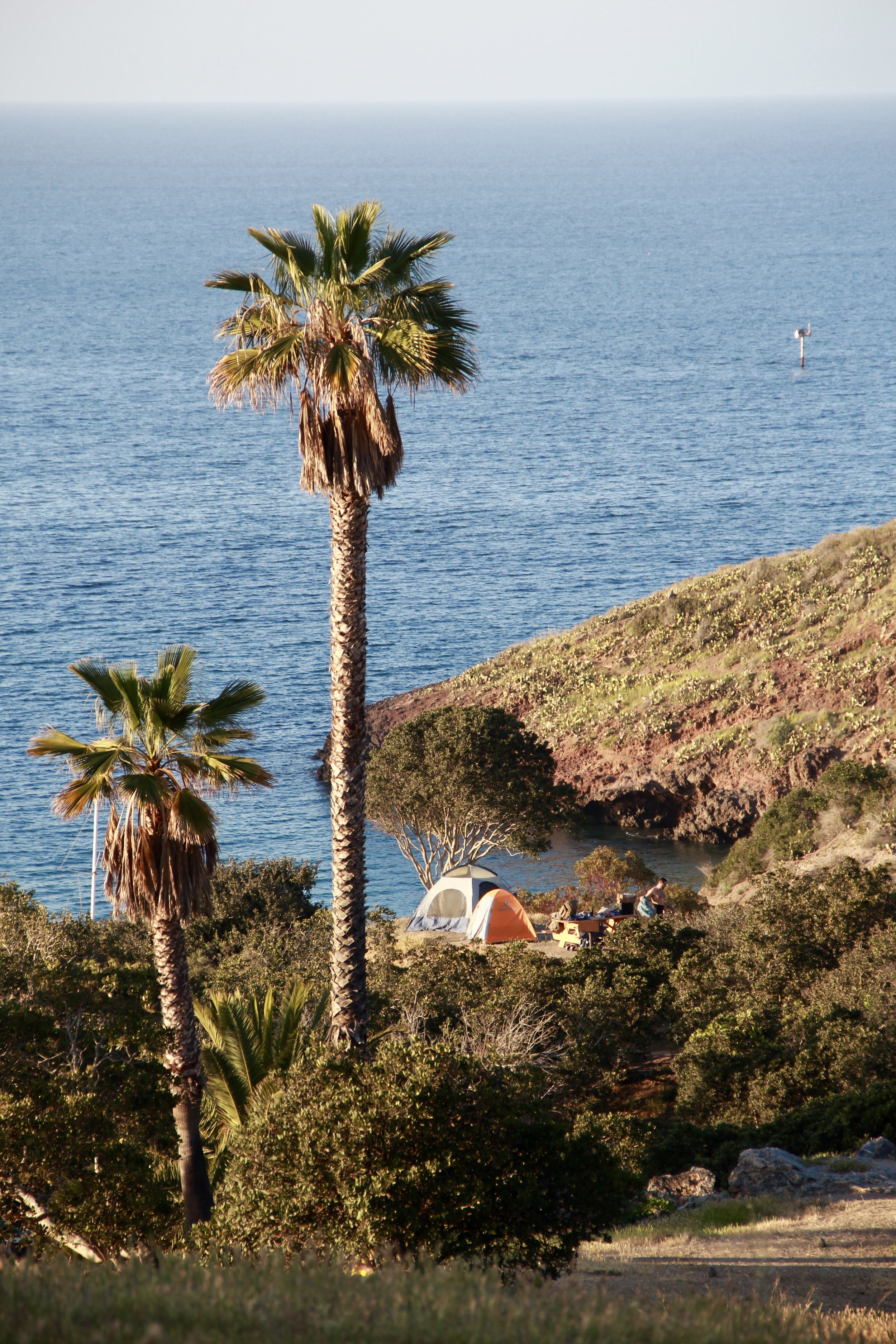 camping in two harbors on santa catalina island