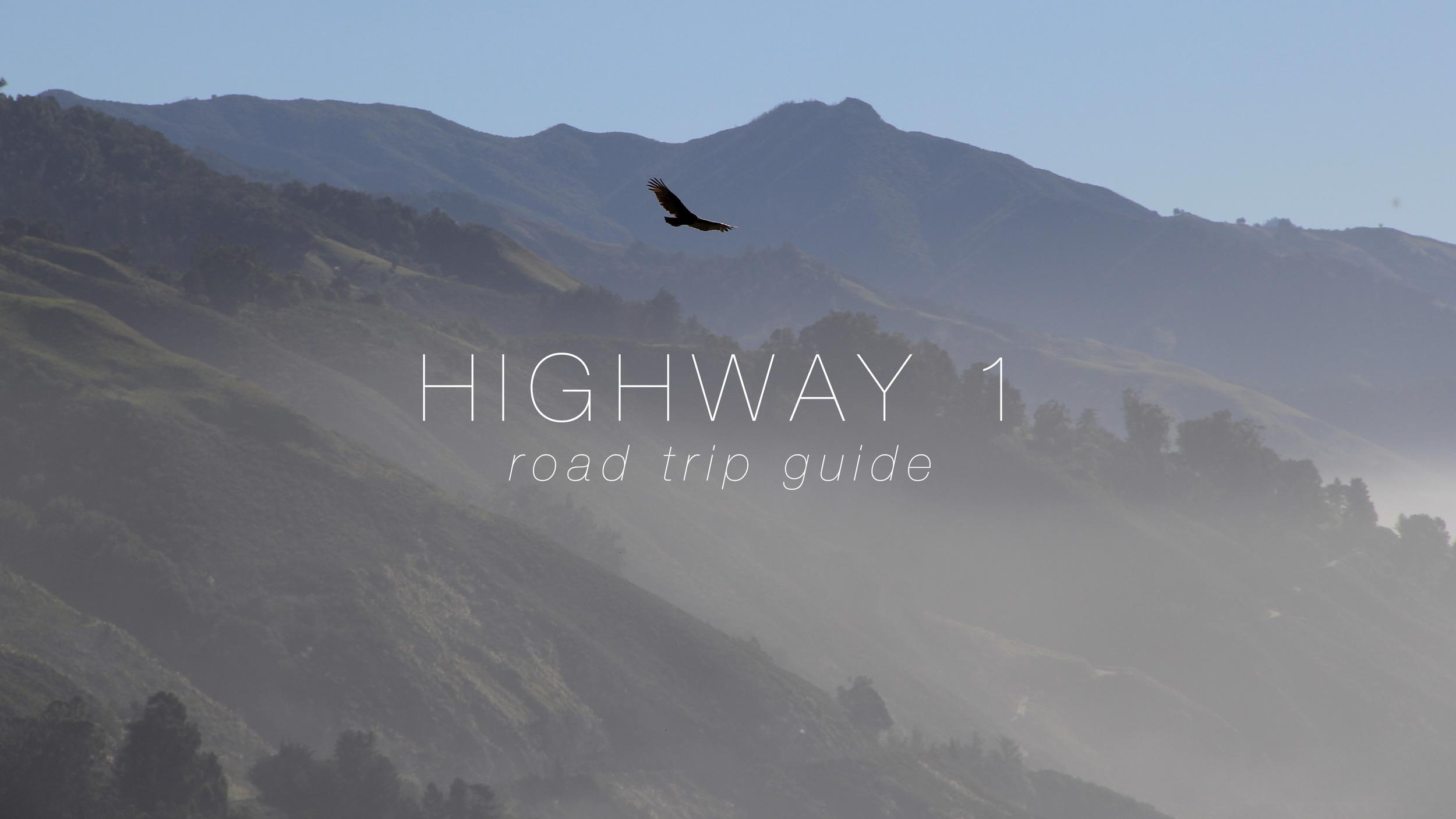 Highway 1 Road Trip