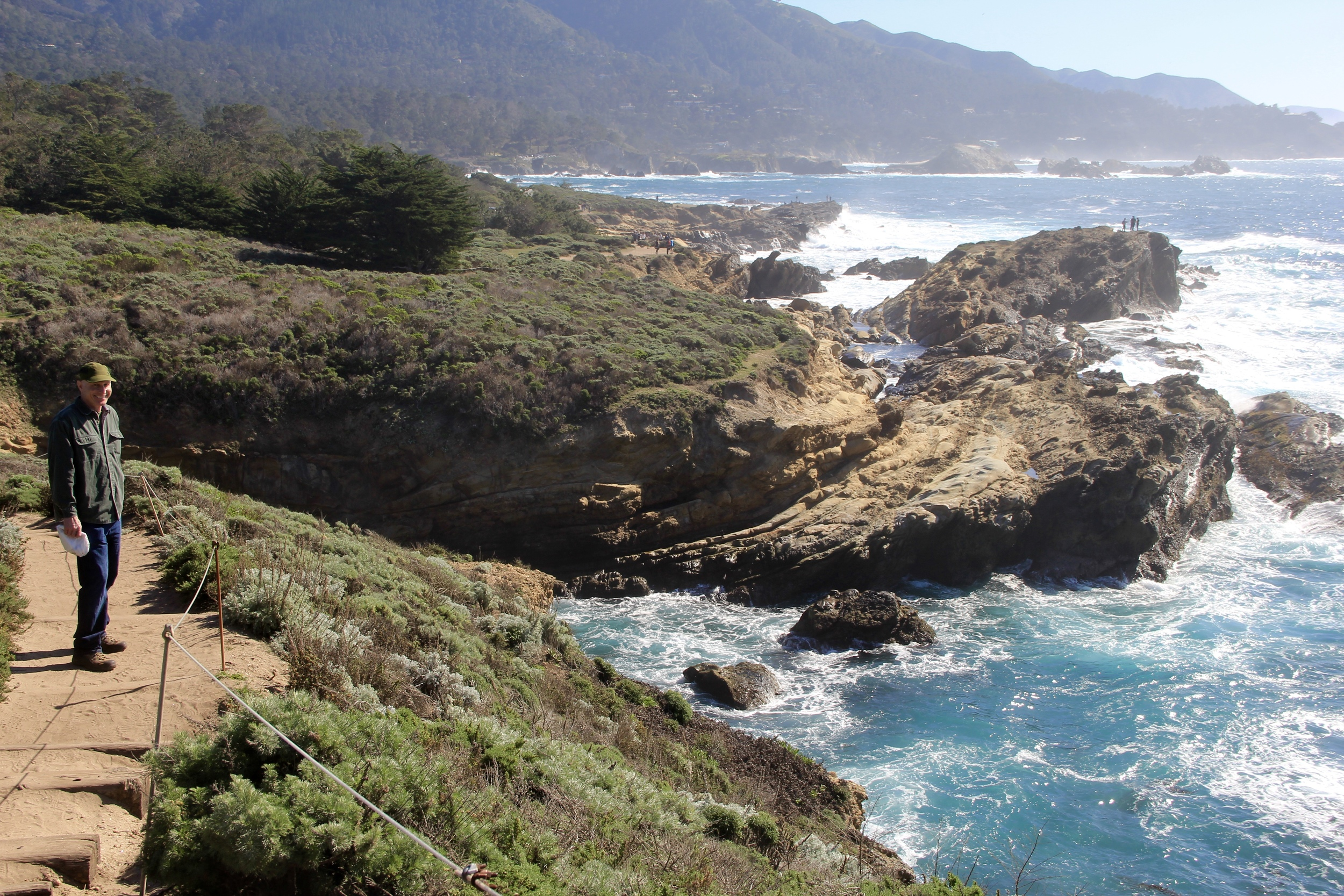 Point Lobos with Dad