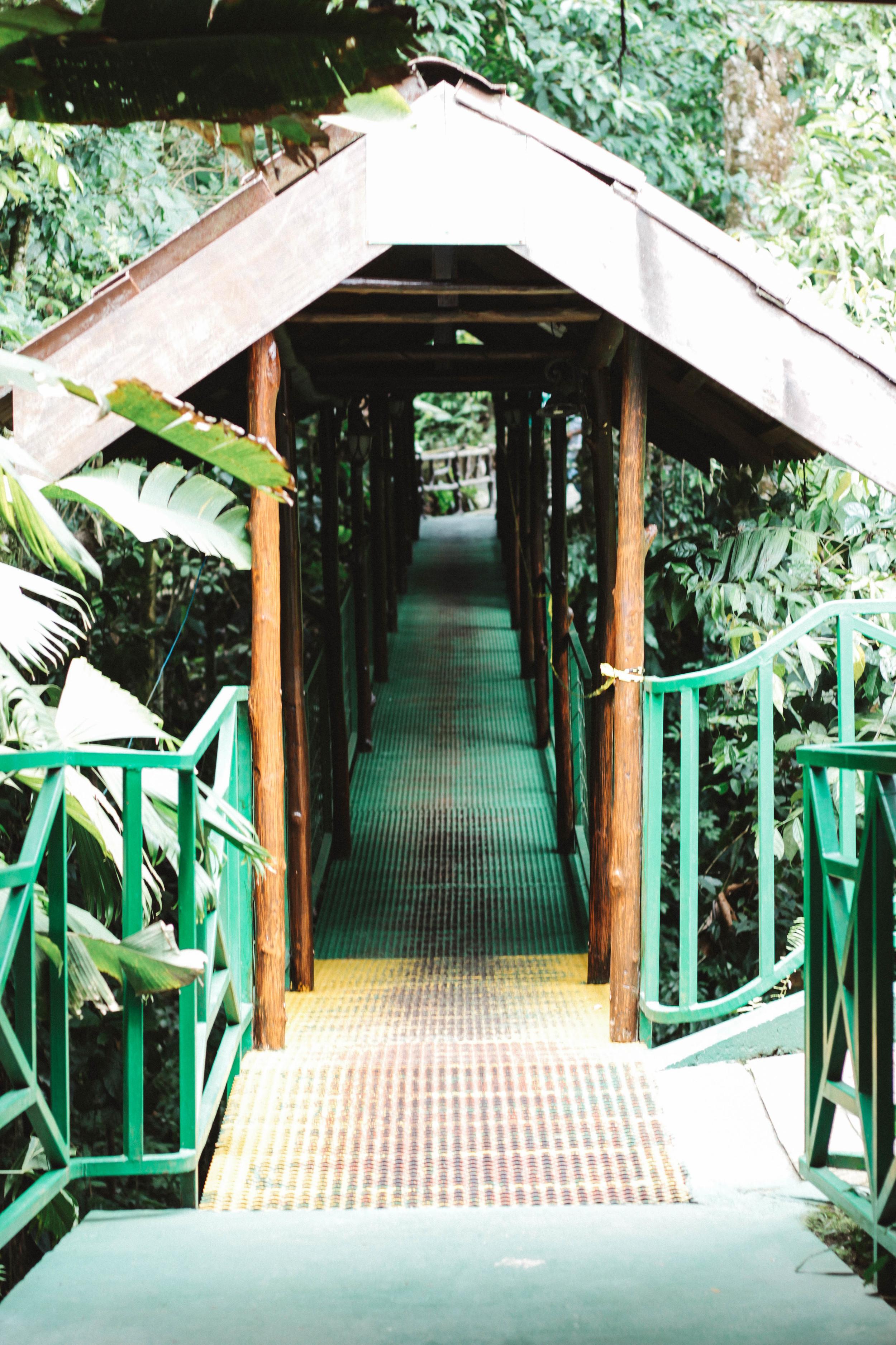 Entrance to La Fortuna Waterfall, Costa Rica